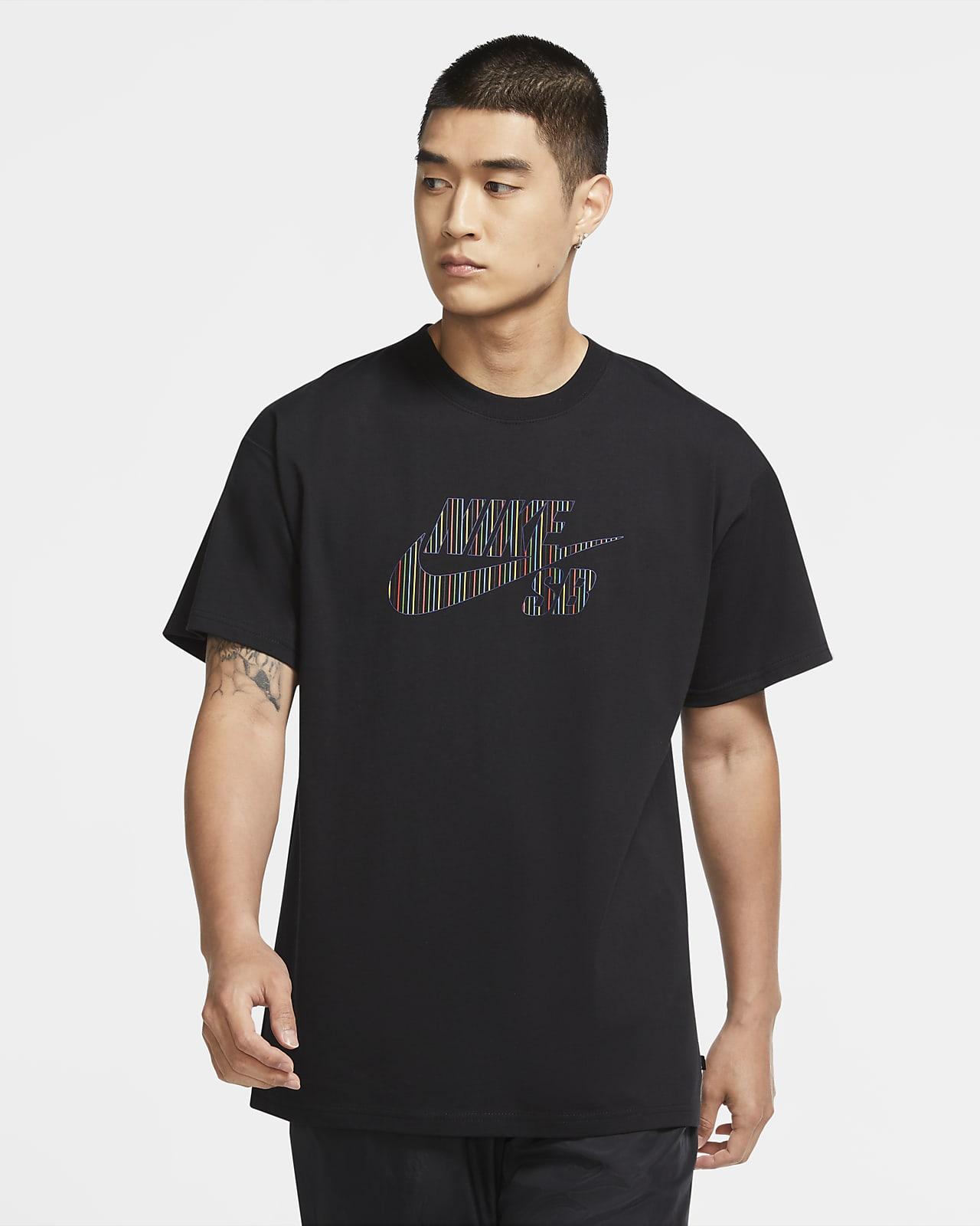 Nike SB Men's Logo Skate T-Shirt. Nike HR