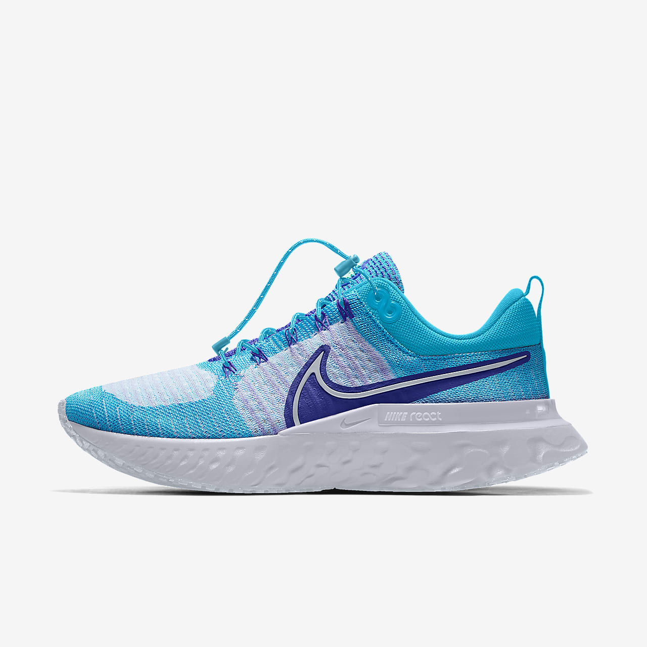 Nike React Infinity Run Flyknit 2 By You personalisierbarer Laufschuh