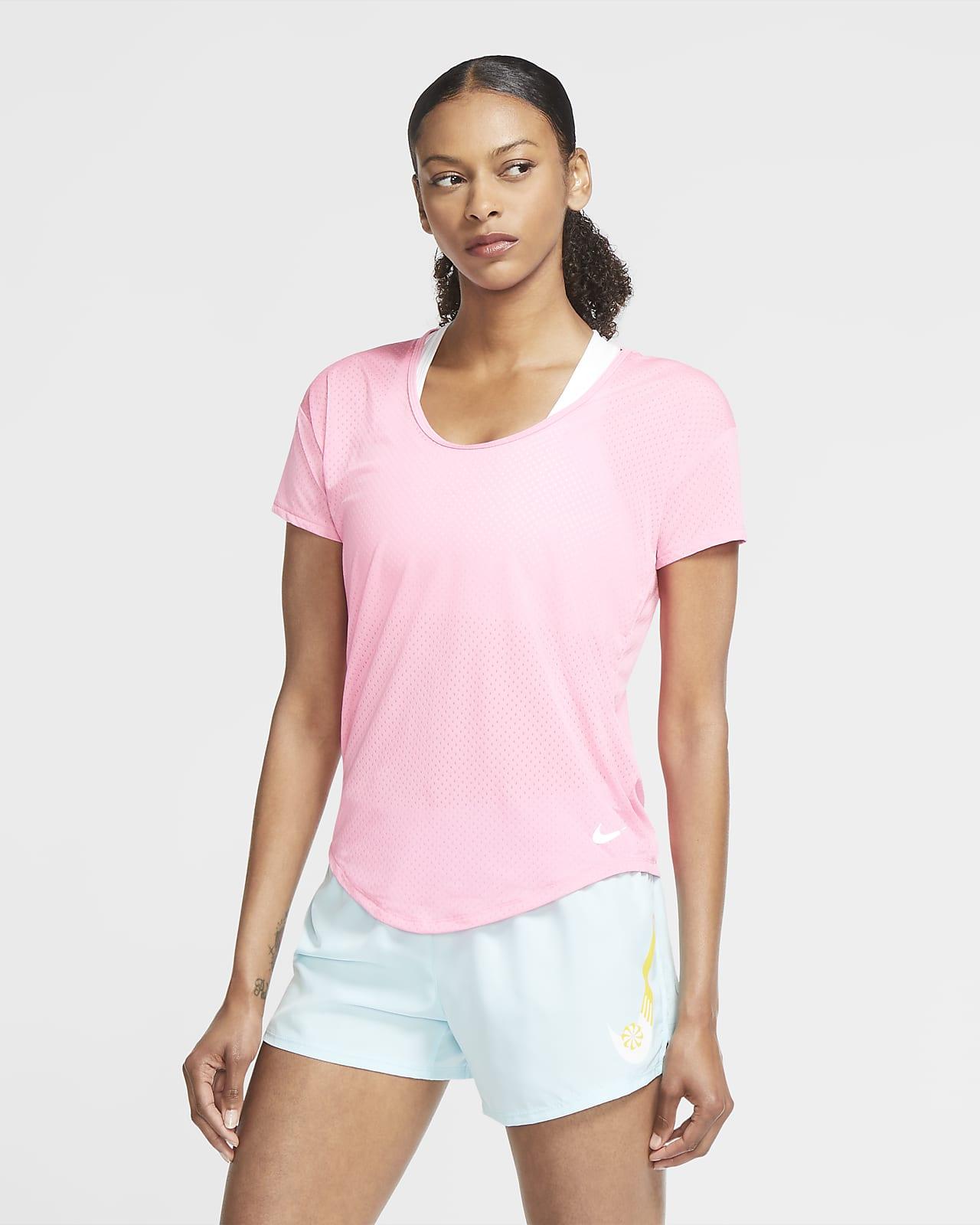 Nike Breathe Women's Short-Sleeve Running Top