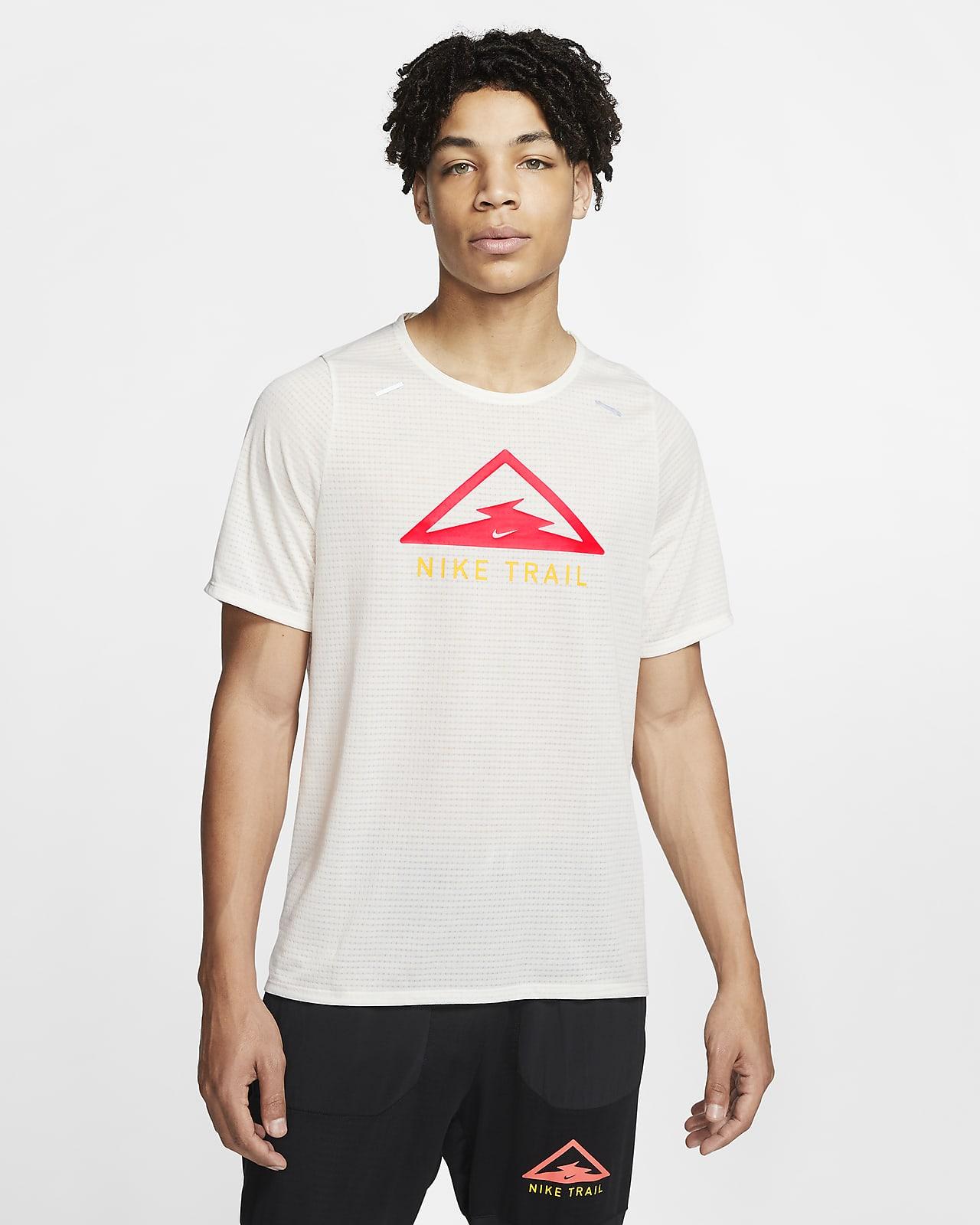 Мужская футболка для трейлраннинга Nike Rise 365 Trail