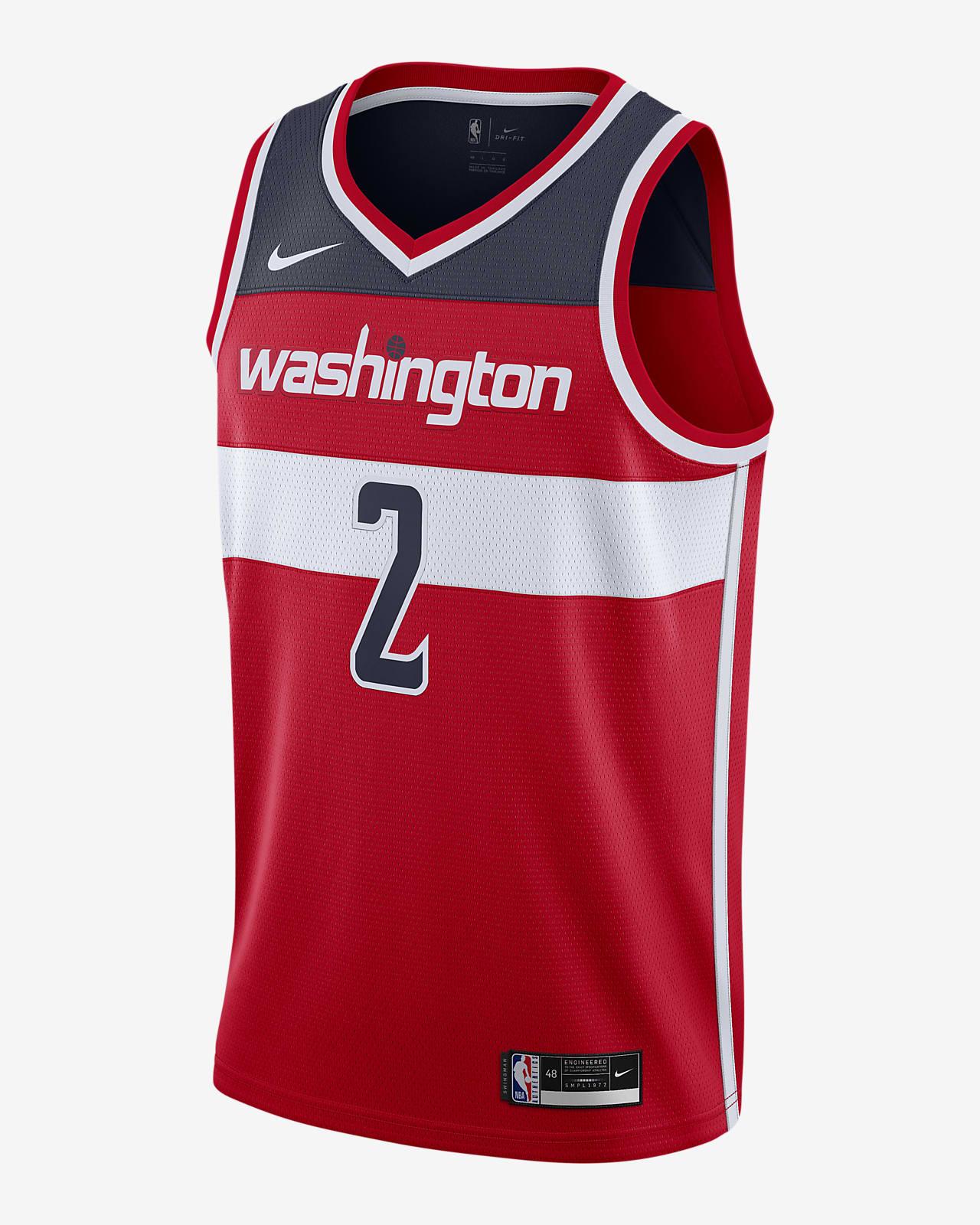 John Wall Wizards Icon Edition 2020 Nike NBA Swingman Jersey