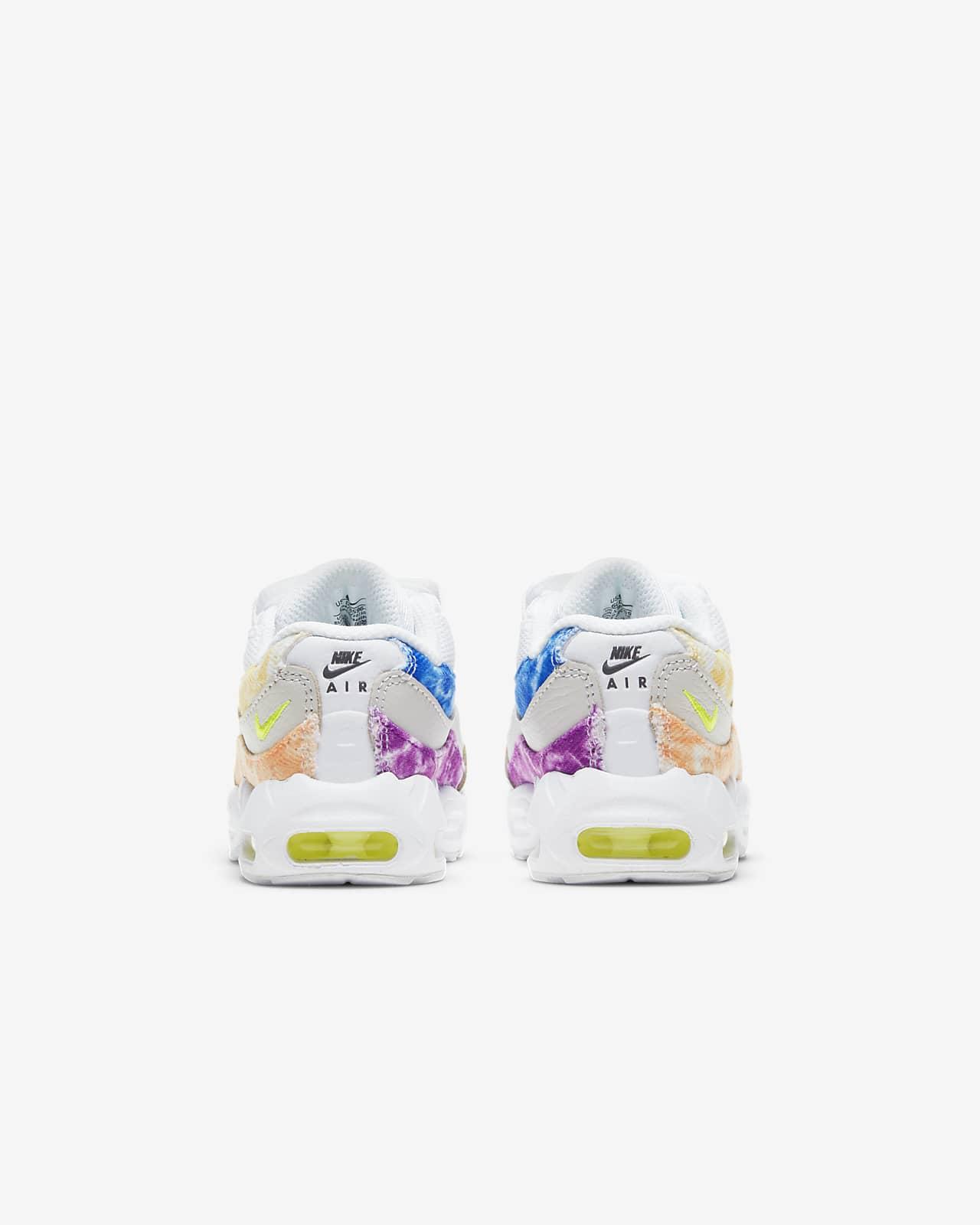 Chaussure Nike Air Max 95 pour Bébé et Petit enfant. Nike LU