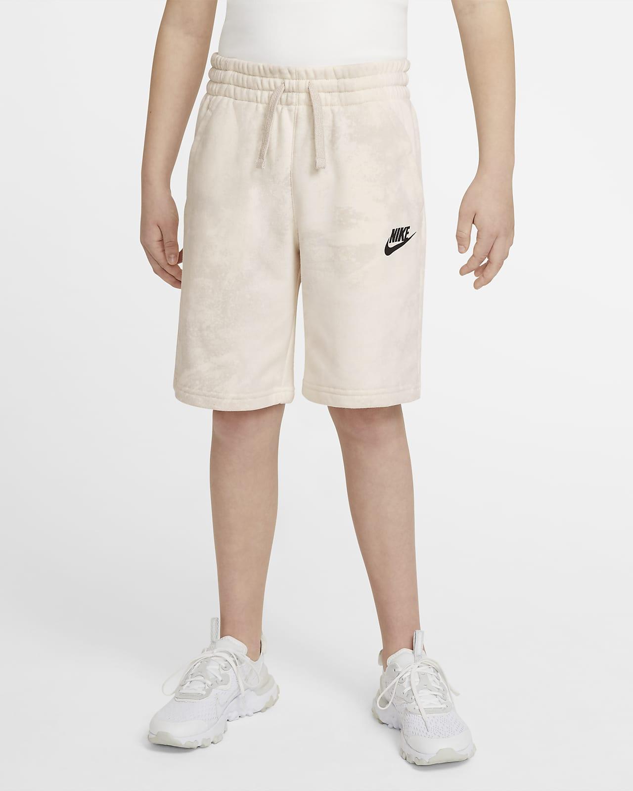 Shorts med batikmönster Nike Sportswear Magic Club för ungdom (killar)