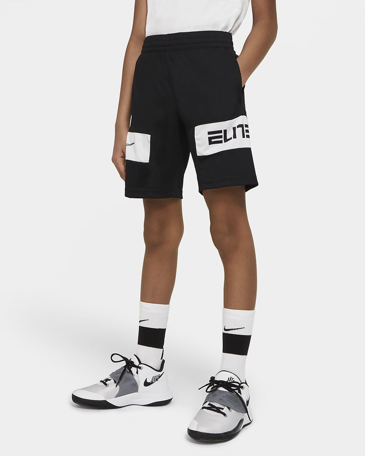 Nike Elite Big Kids' (Boys') Graphic Basketball Shorts ...