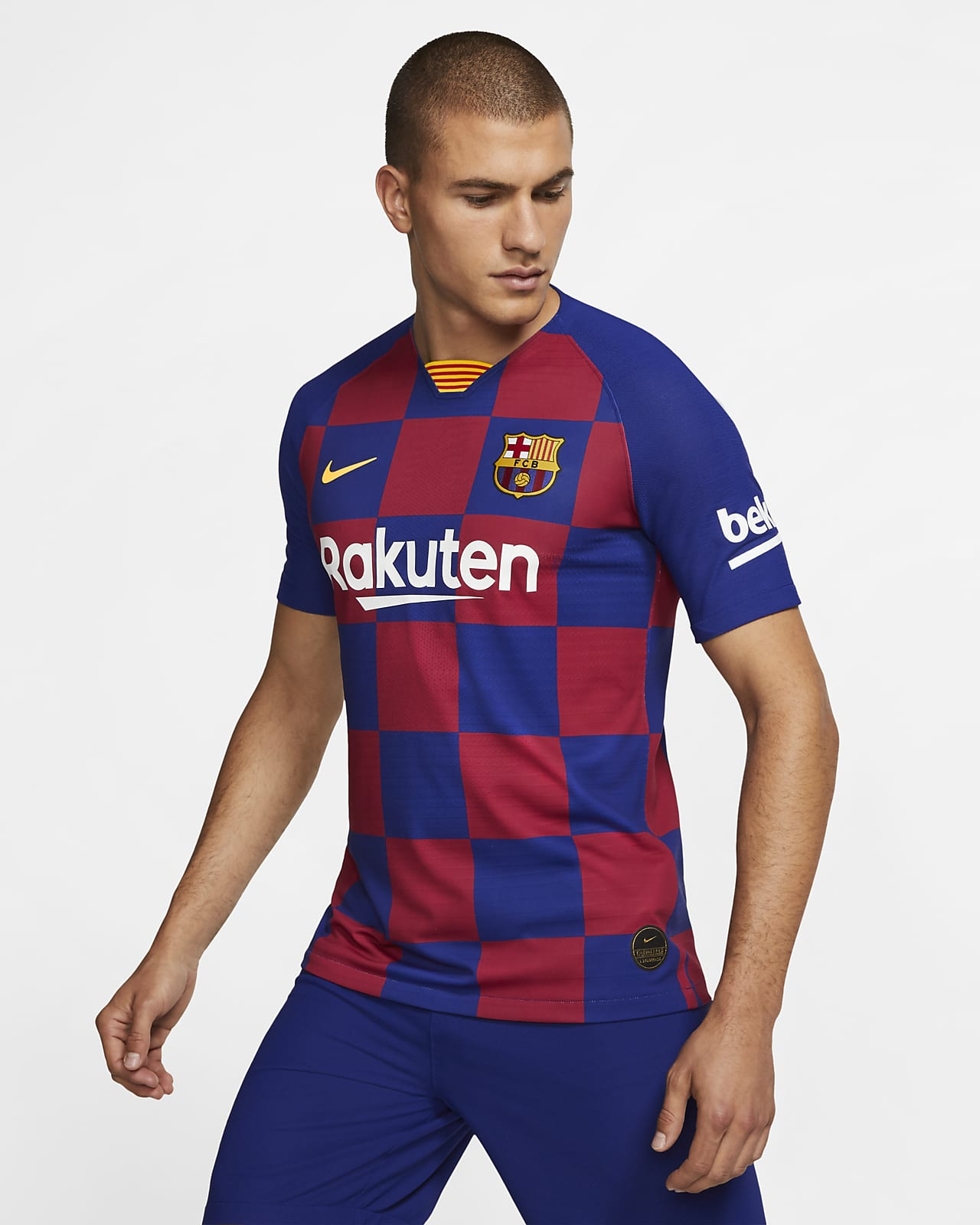 Maillot de football FC Barcelona 201920 Vapor Match Home pour Homme