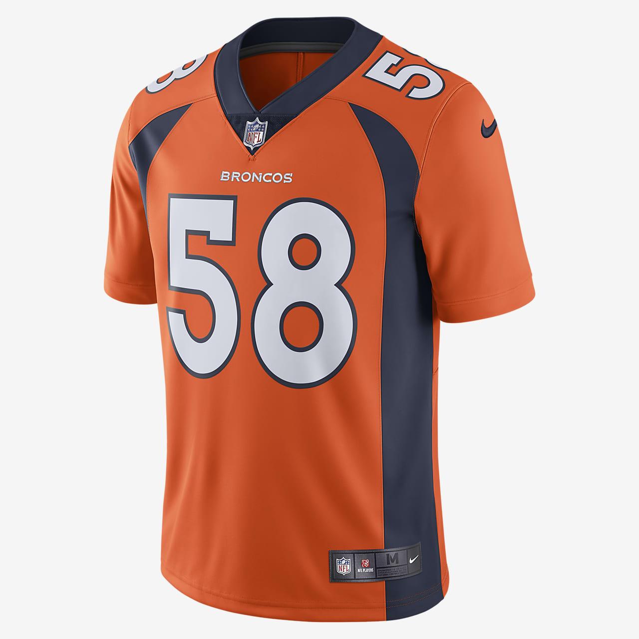 NFL Denver Broncos (Von Miller) Men's Limited Vapor Untouchable Football Jersey