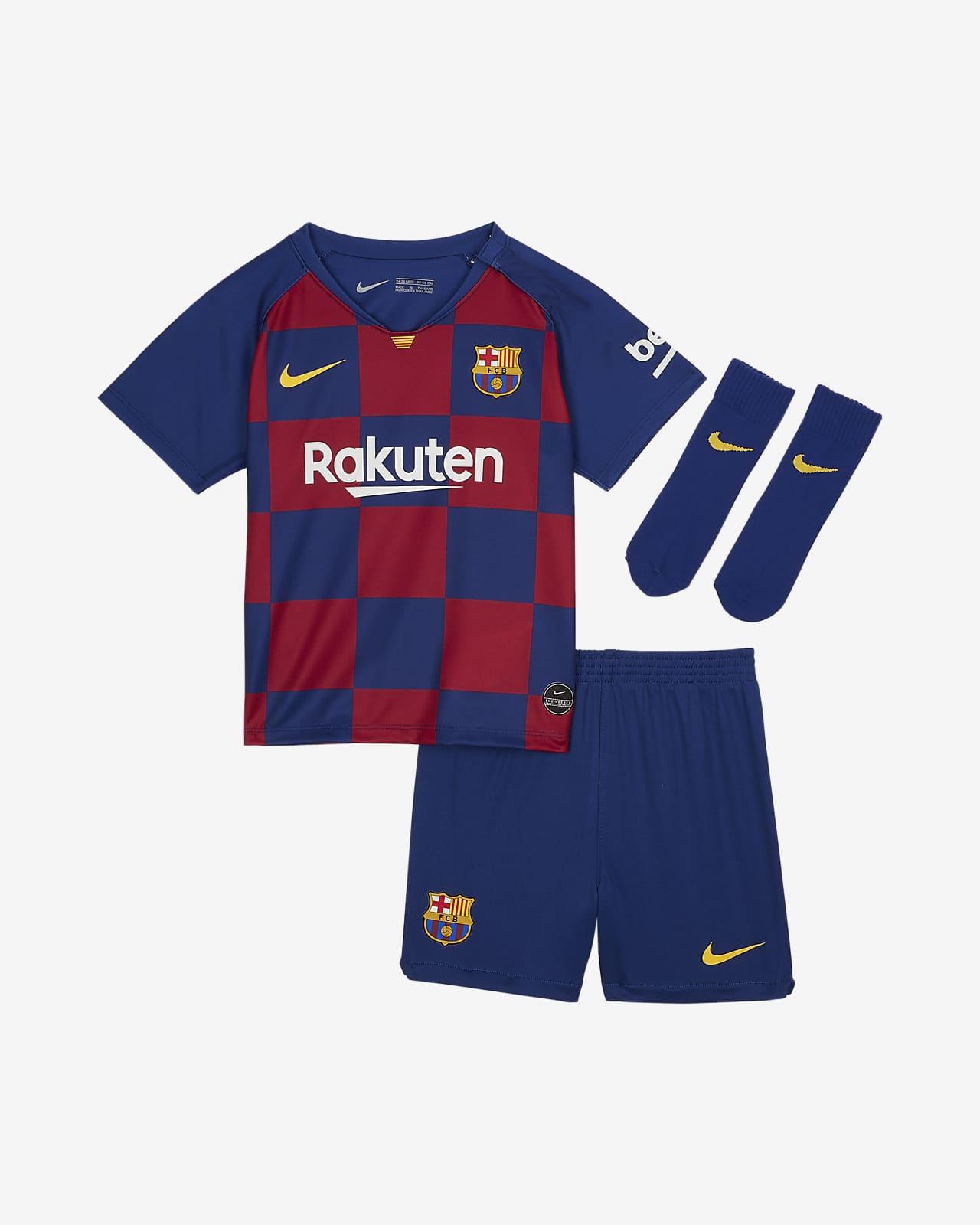 Divisa da calcio FC Barcelona 2019/20 per neonati/bimbi piccoli - Home