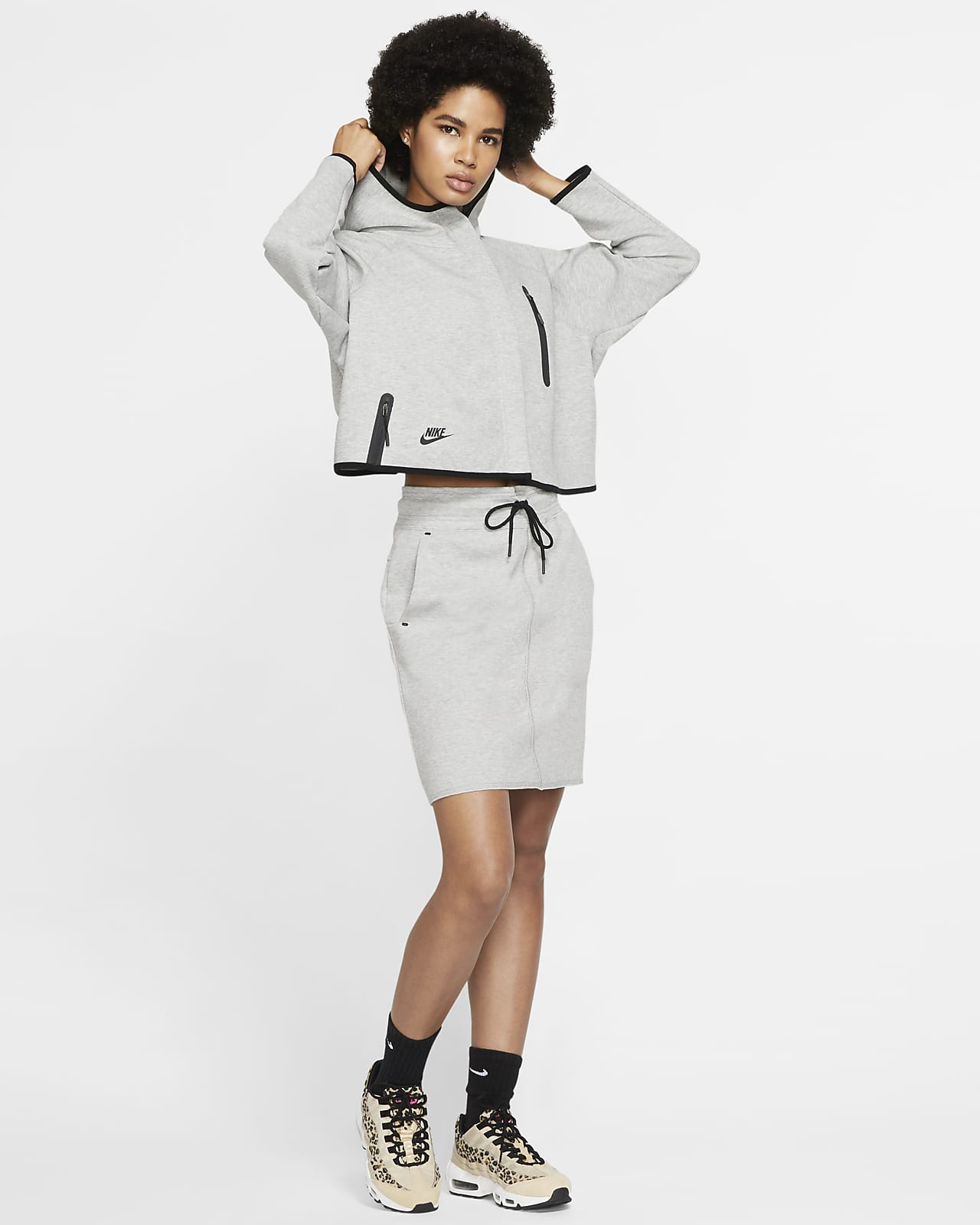 Nike Sportswear Tech Fleece Damen Poncho