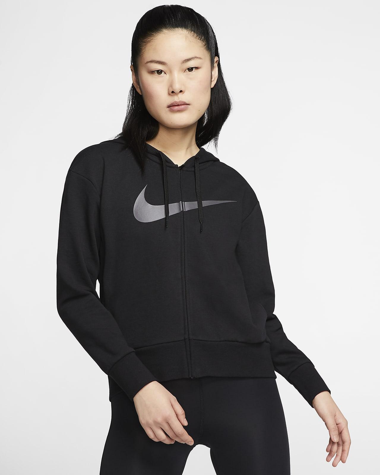 Nike Dri-FIT Get Fit Dessuadora amb caputxa i cremallera completa d'entrenament - Dona