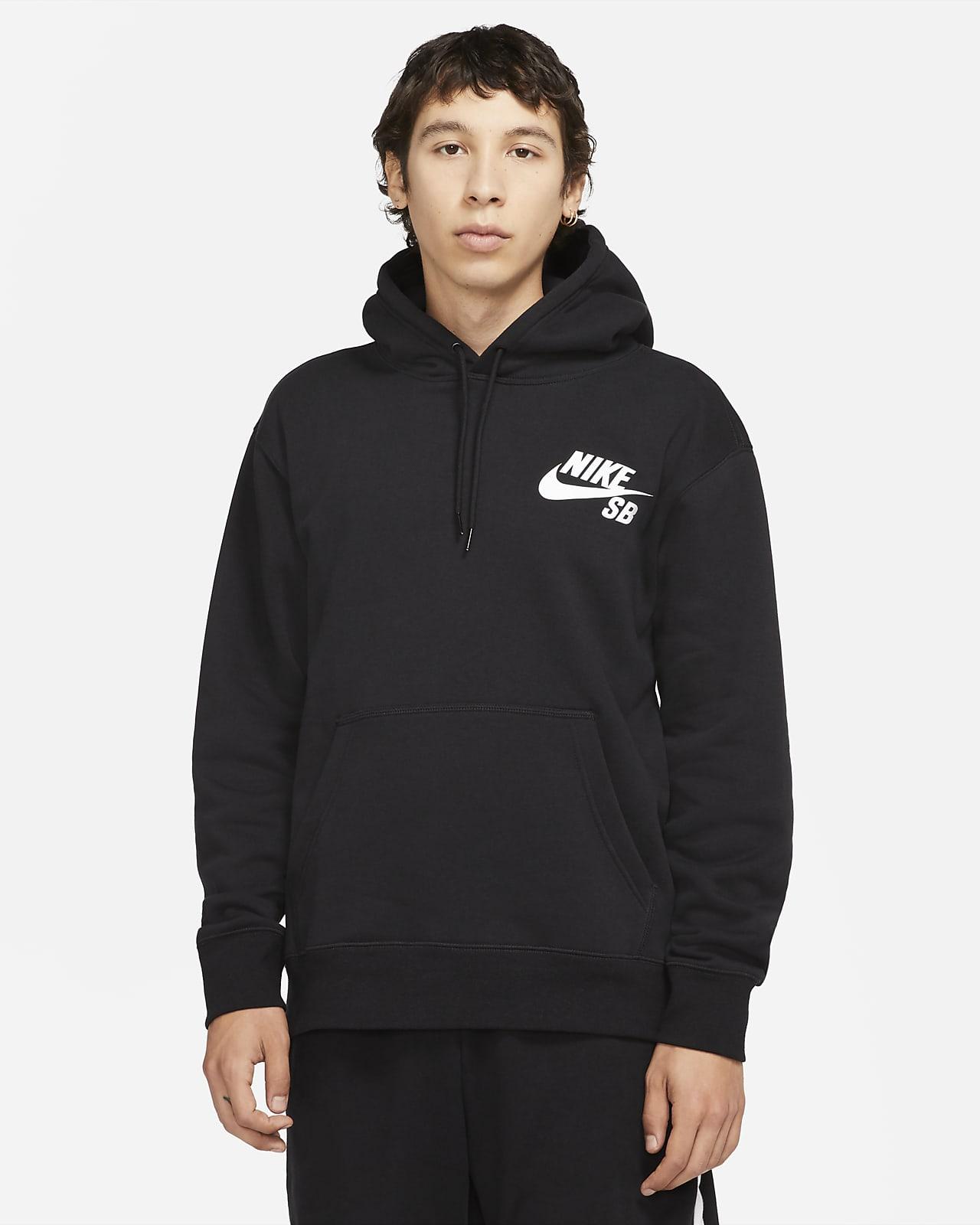 Hoodie pullover de skateboard Nike SB Icon
