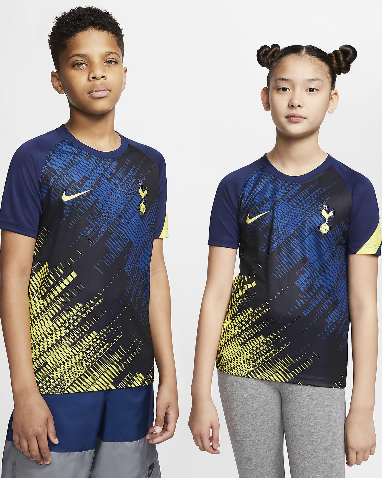 Tottenham Hotspur-kortærmet fodboldtrøje til store børn