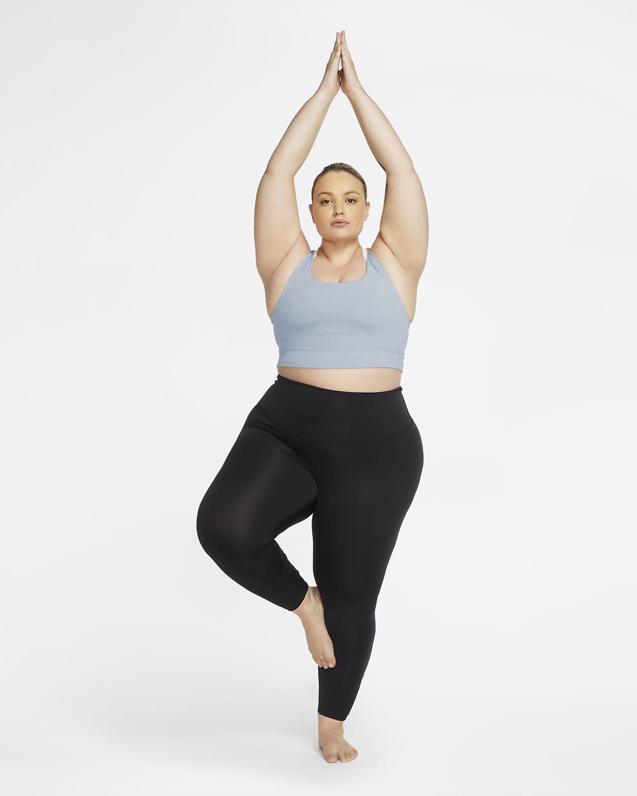 Nike Yoga Luxe Women S Infinalon Cropped Tank Plus Size Nike Com
