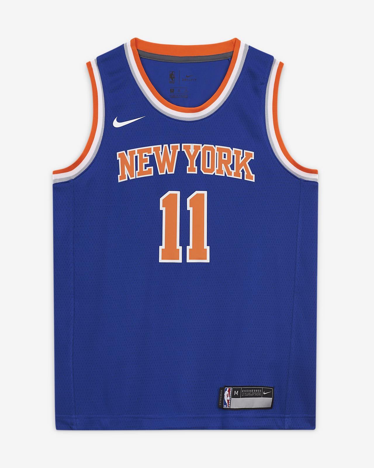 Knicks Icon Edition Older Kids' Nike NBA Swingman Jersey