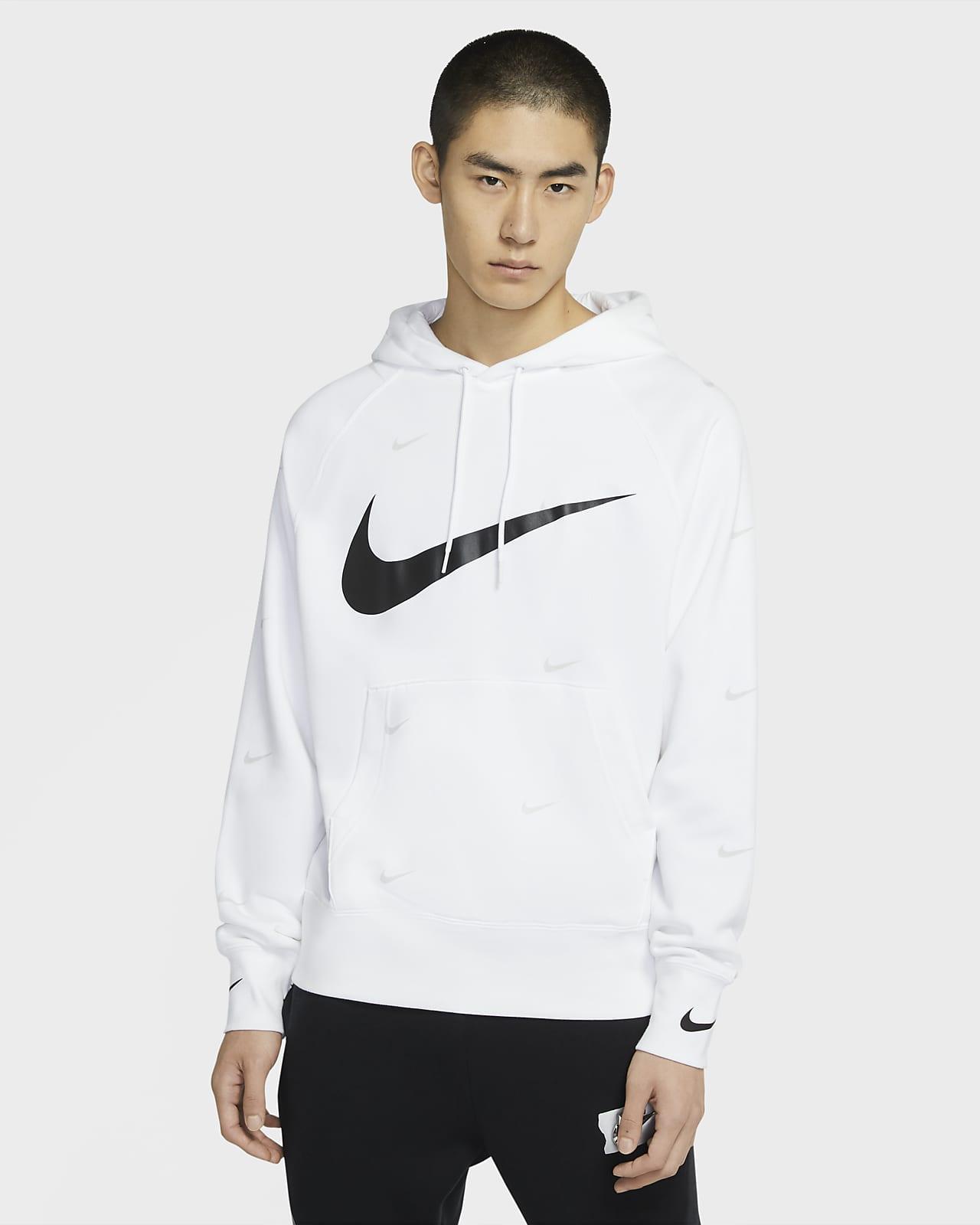 Nike Sportswear Swoosh 男子套头连帽衫