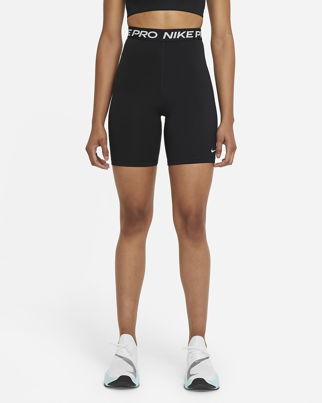 Γυναικείο ψηλόμεσο σορτς 18 cm Nike Pro 365