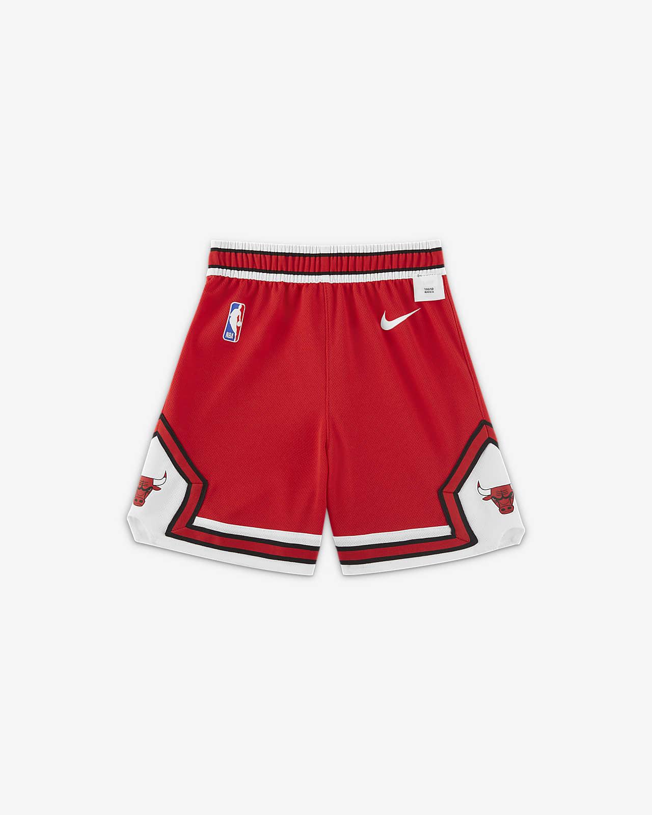 芝加哥公牛队 Icon Edition Nike NBA 婴童短裤