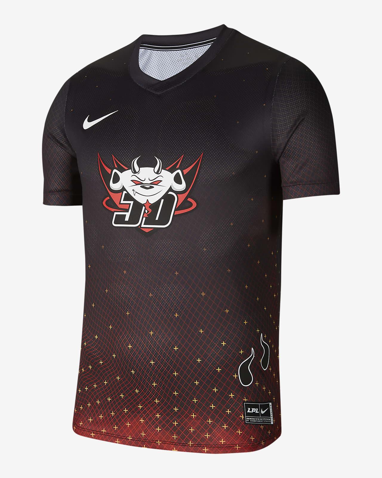 Nike x LPL JDG 男子比赛服