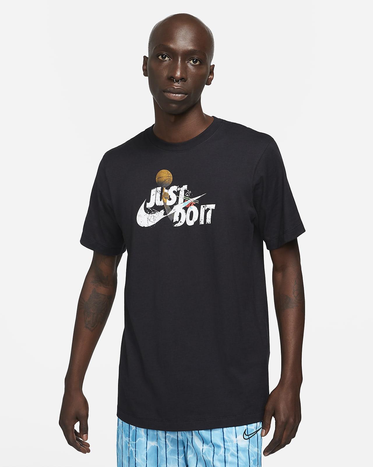 """Playera de básquetbol para hombre Nike Dri-FIT """"Just Do It"""""""