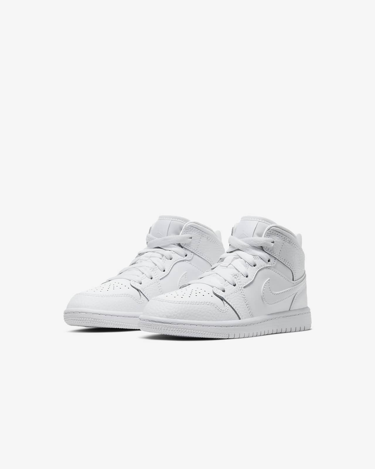 Chaussure Jordan 1 Mid pour Jeune enfant. Nike LU