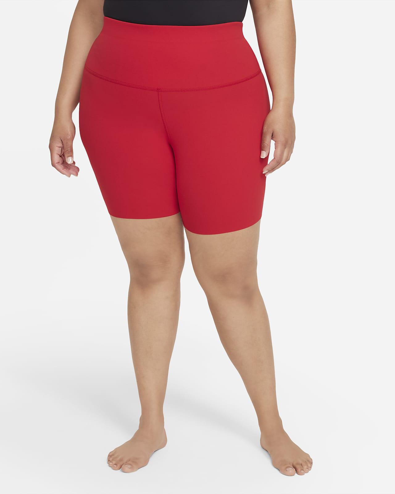 Shorts para mujer Nike Yoga Luxe (talla grande)