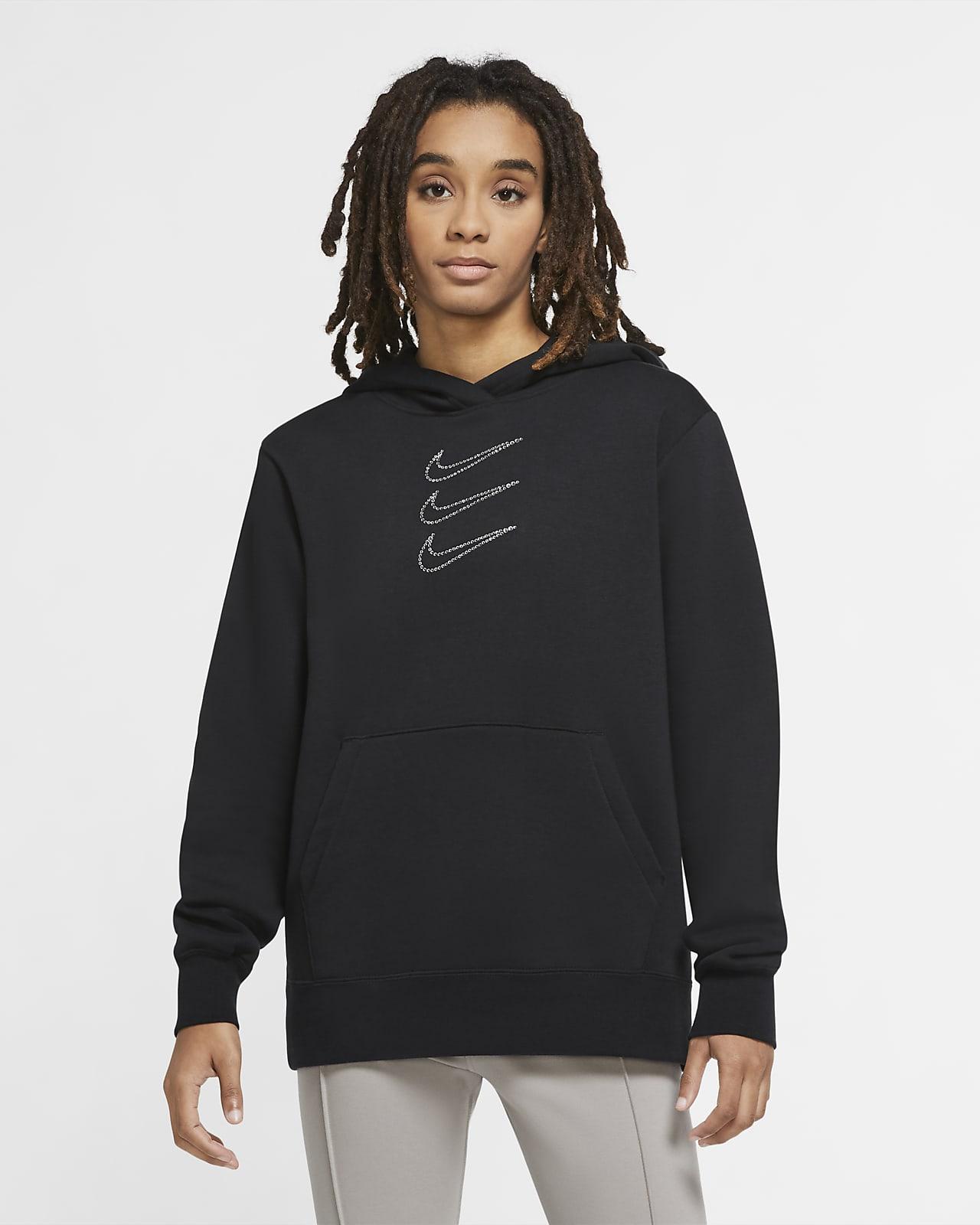 Sweat à capuche avec strass Nike Sportswear pour Femme