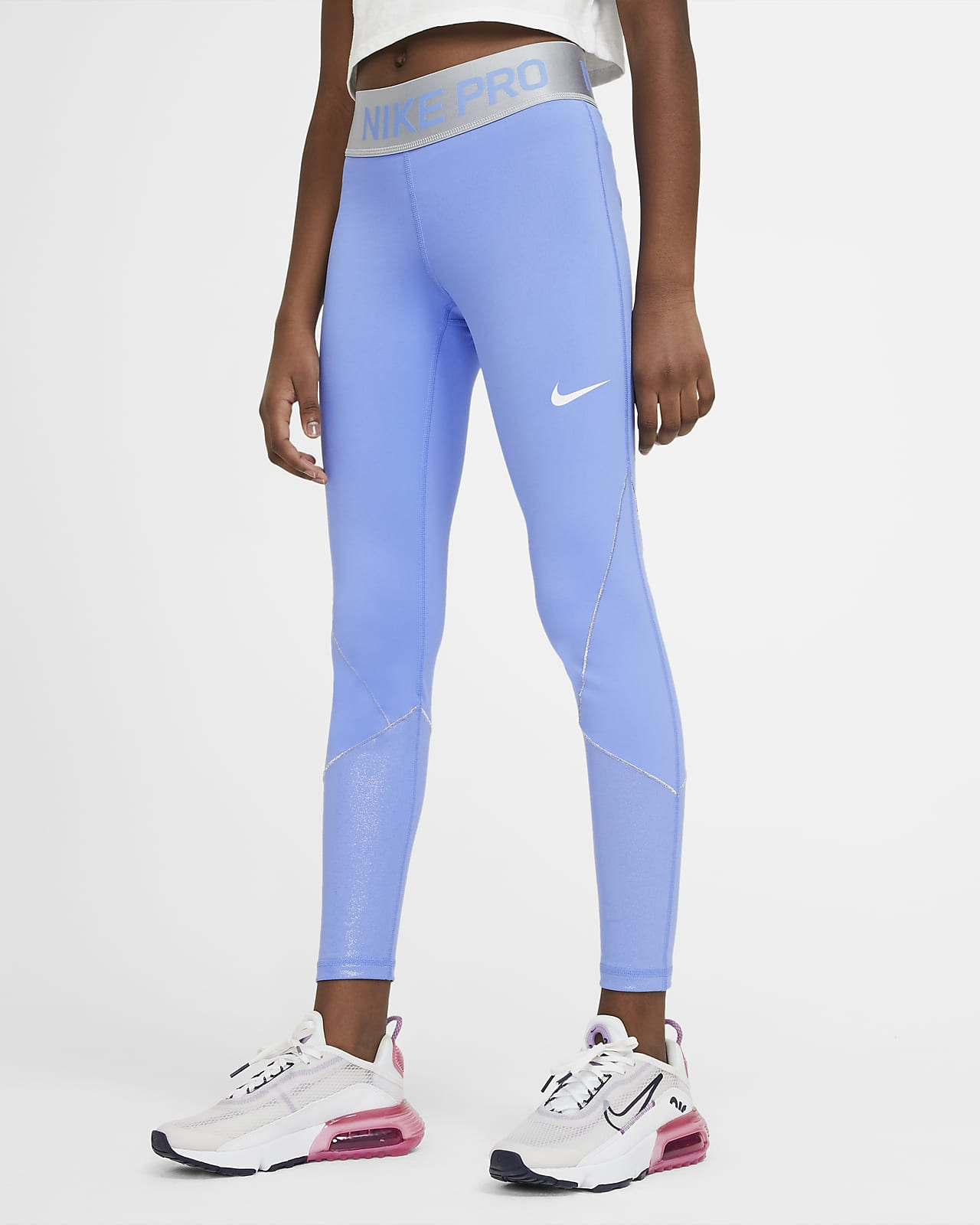 Nike Pro Warm Trainings-Tights für ältere Kinder (Mädchen)