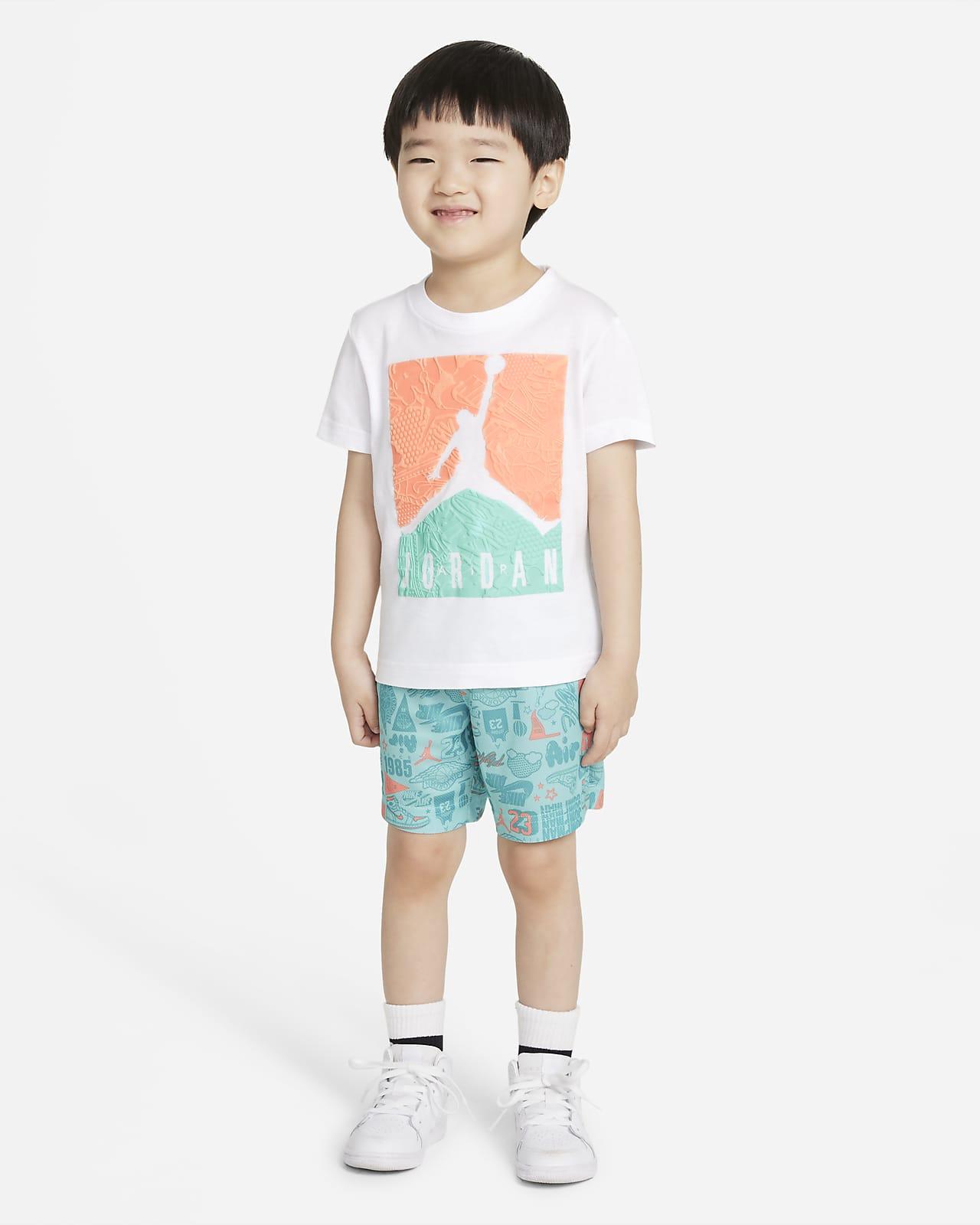 Jordan Toddler T-Shirt and Shorts Set