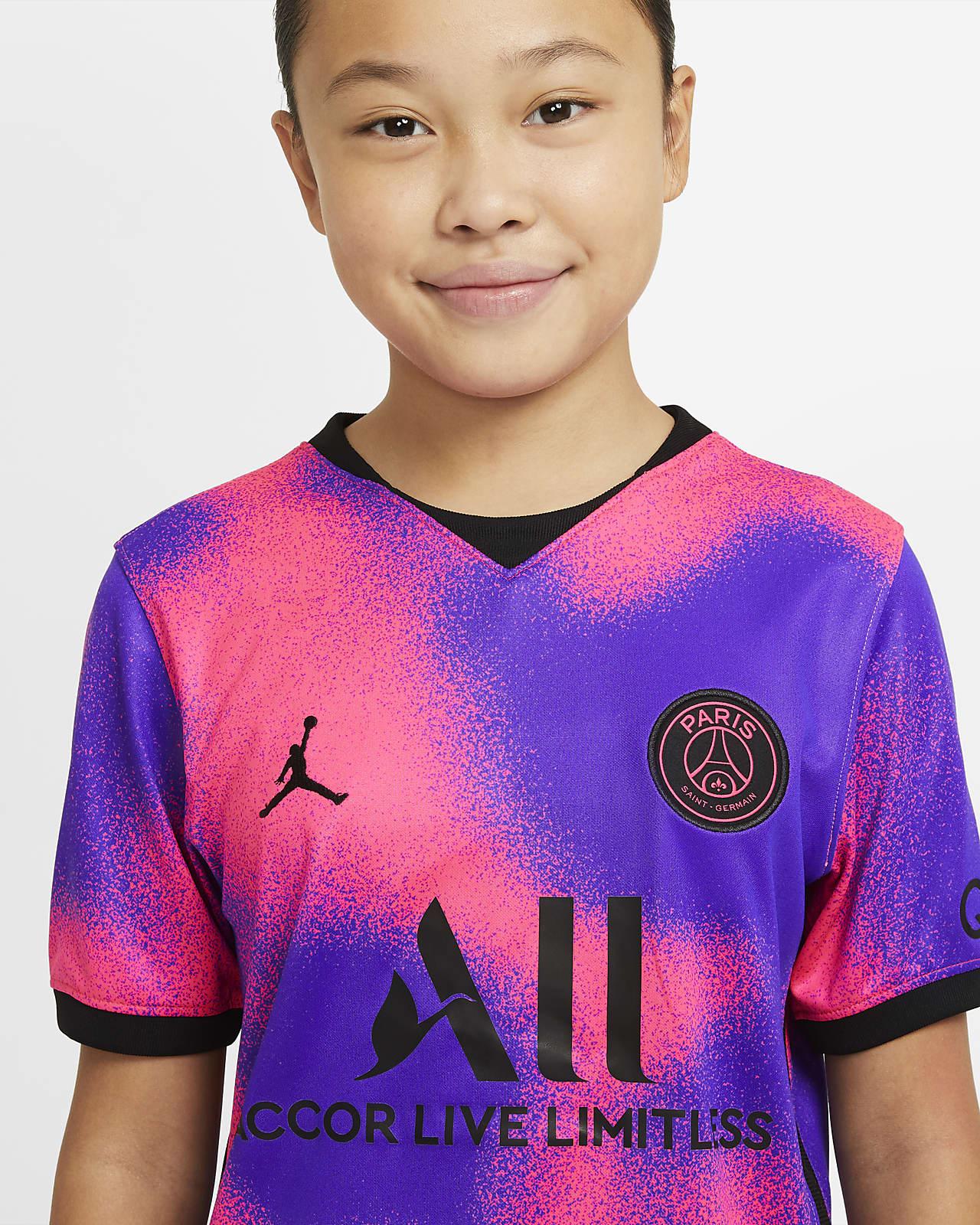 Maglia da calcio Paris Saint-Germain 2020/21 Stadium per ragazzi - Quarta
