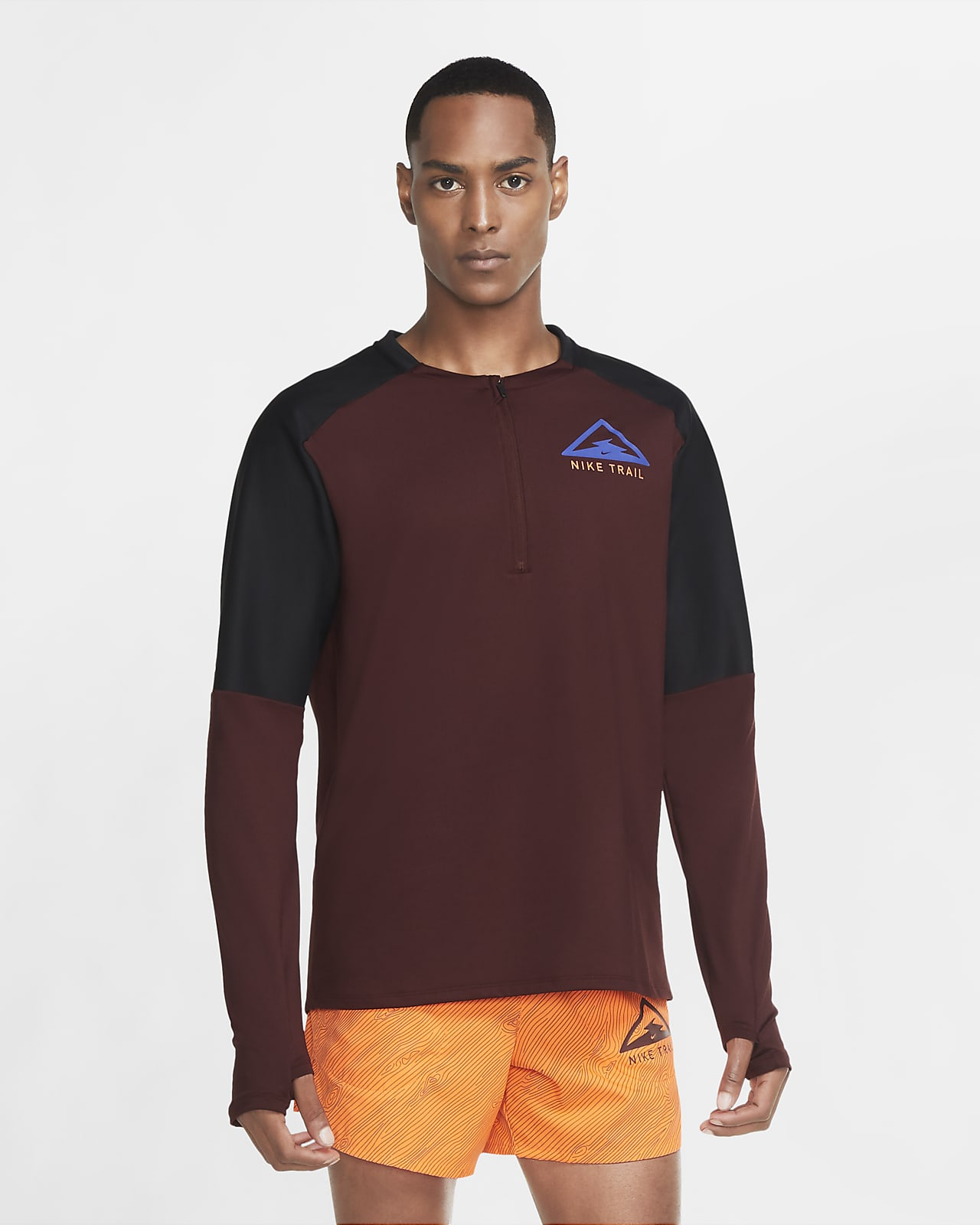 Nike Camiseta de manga larga de trail running - Hombre