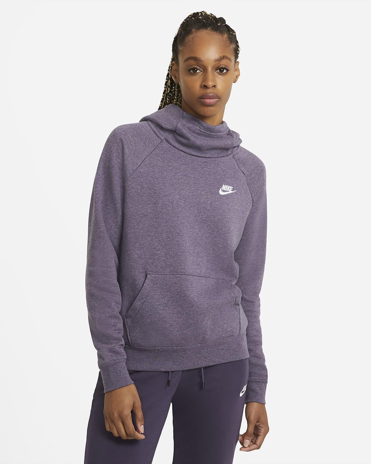 Nike Sportswear Essential Women's Funnel-Neck Fleece Pullover Hoodie