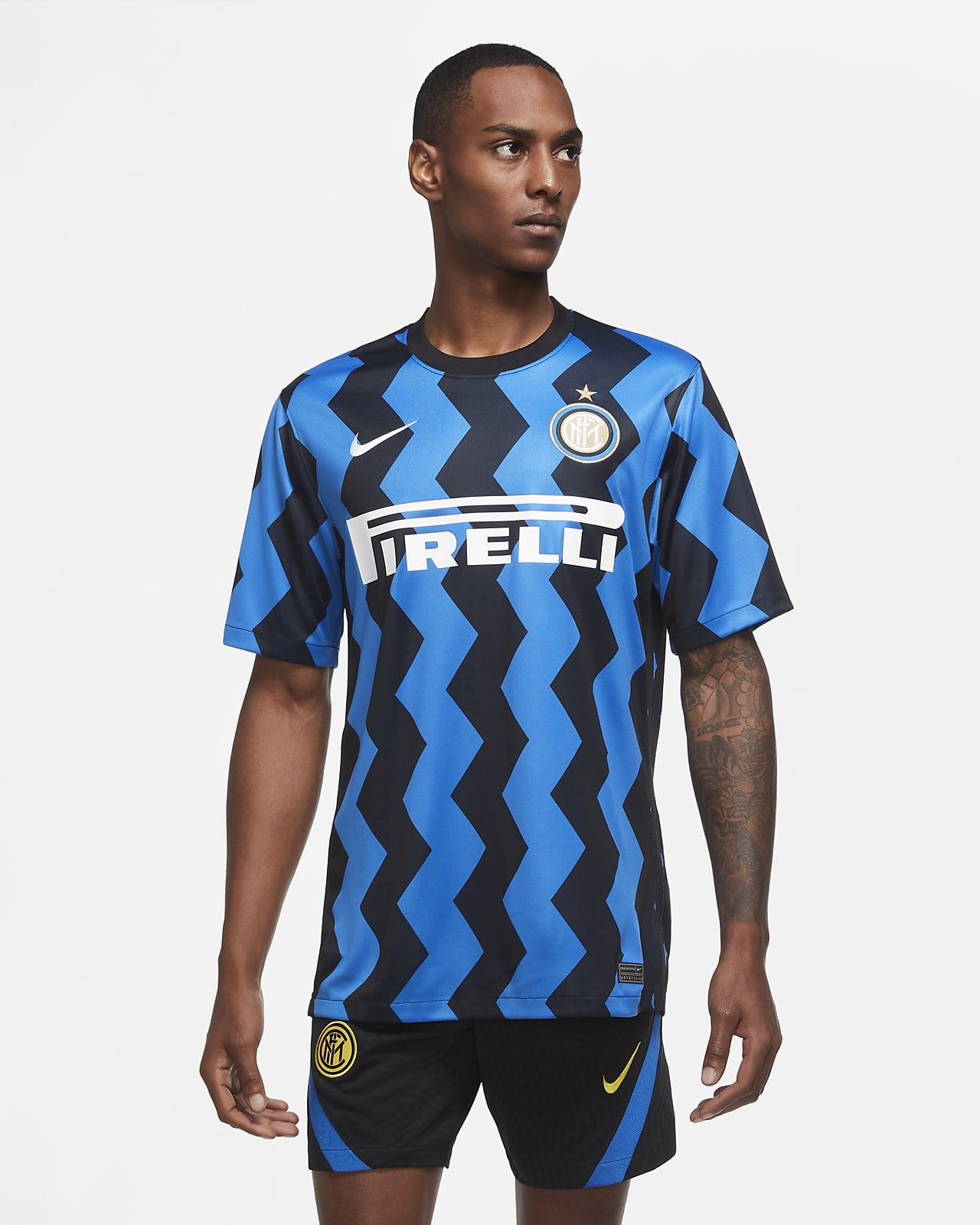 Inter Mailand 2020/21 Stadium Home Herren-Fußballtrikot