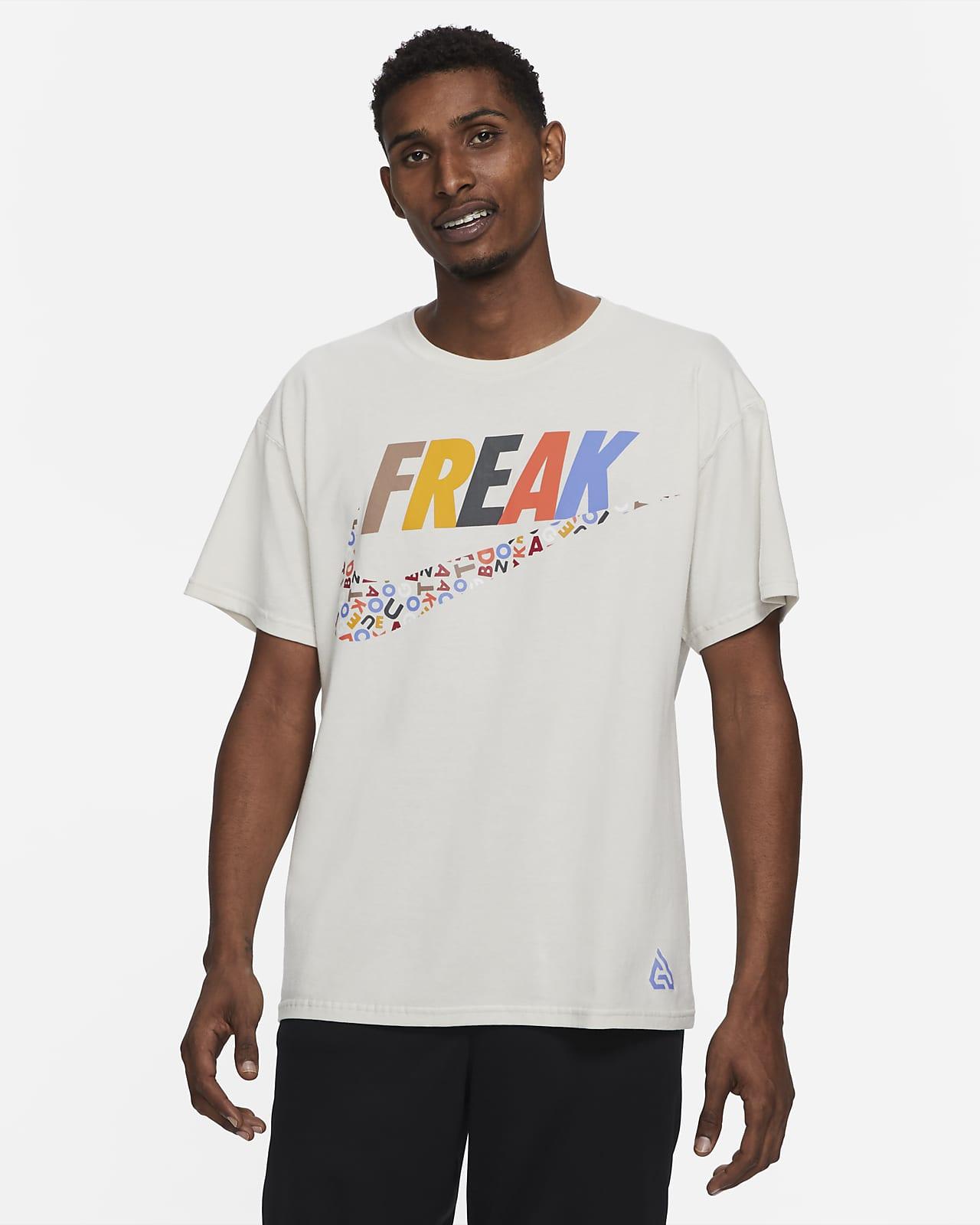 Giannis Freak Swoosh Men's Basketball T-Shirt
