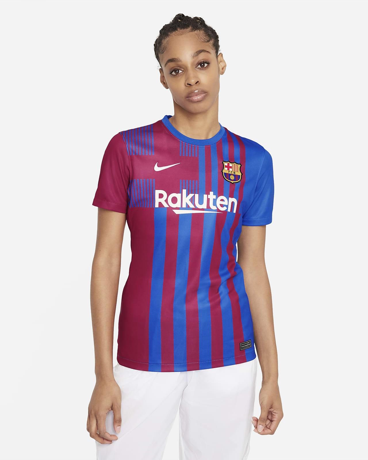Maglia da calcio FC Barcelona 2021/22 Stadium da donna - Home