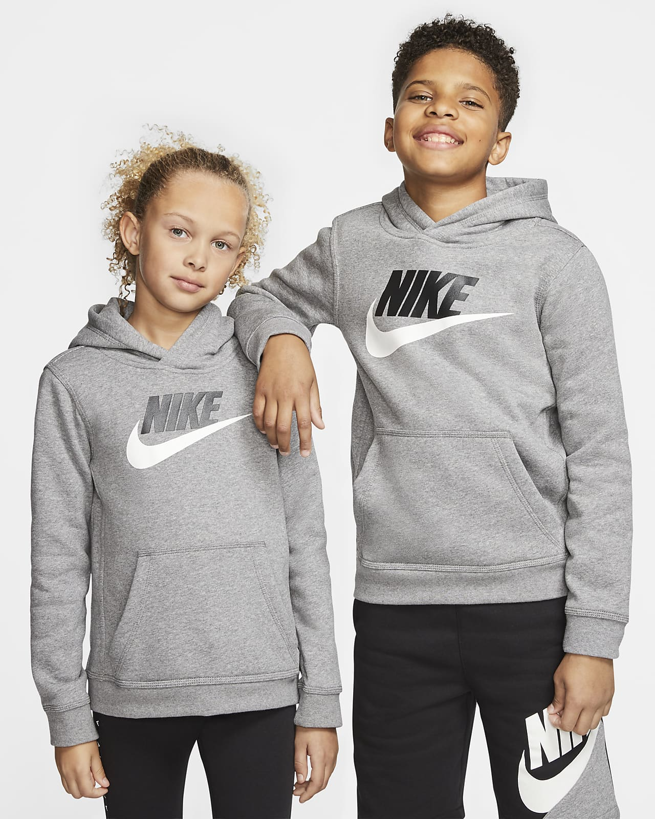 Hoodie pullover Nike Sportswear Club Fleece Júnior