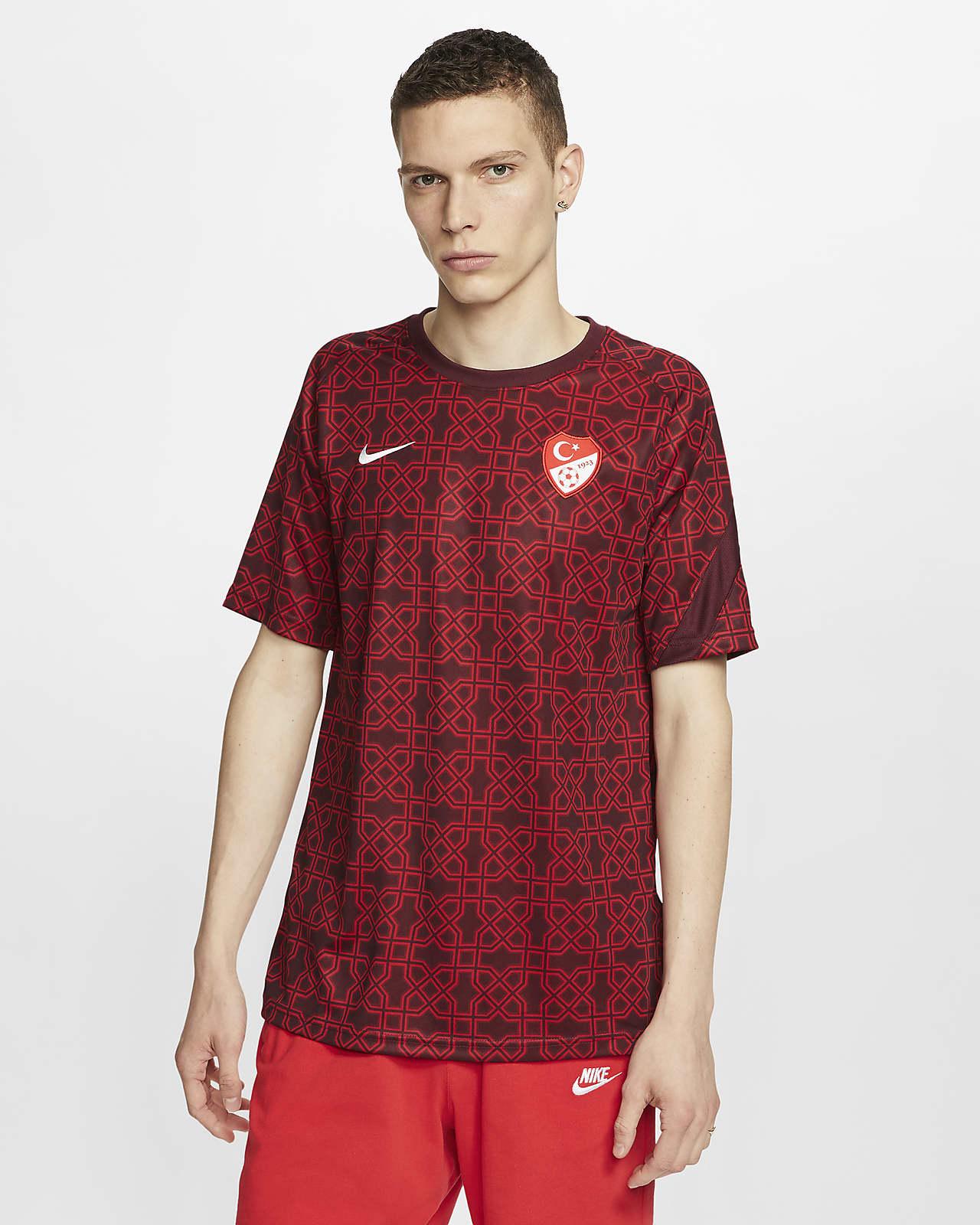 Camiseta de fútbol de manga corta para hombre de Turquía