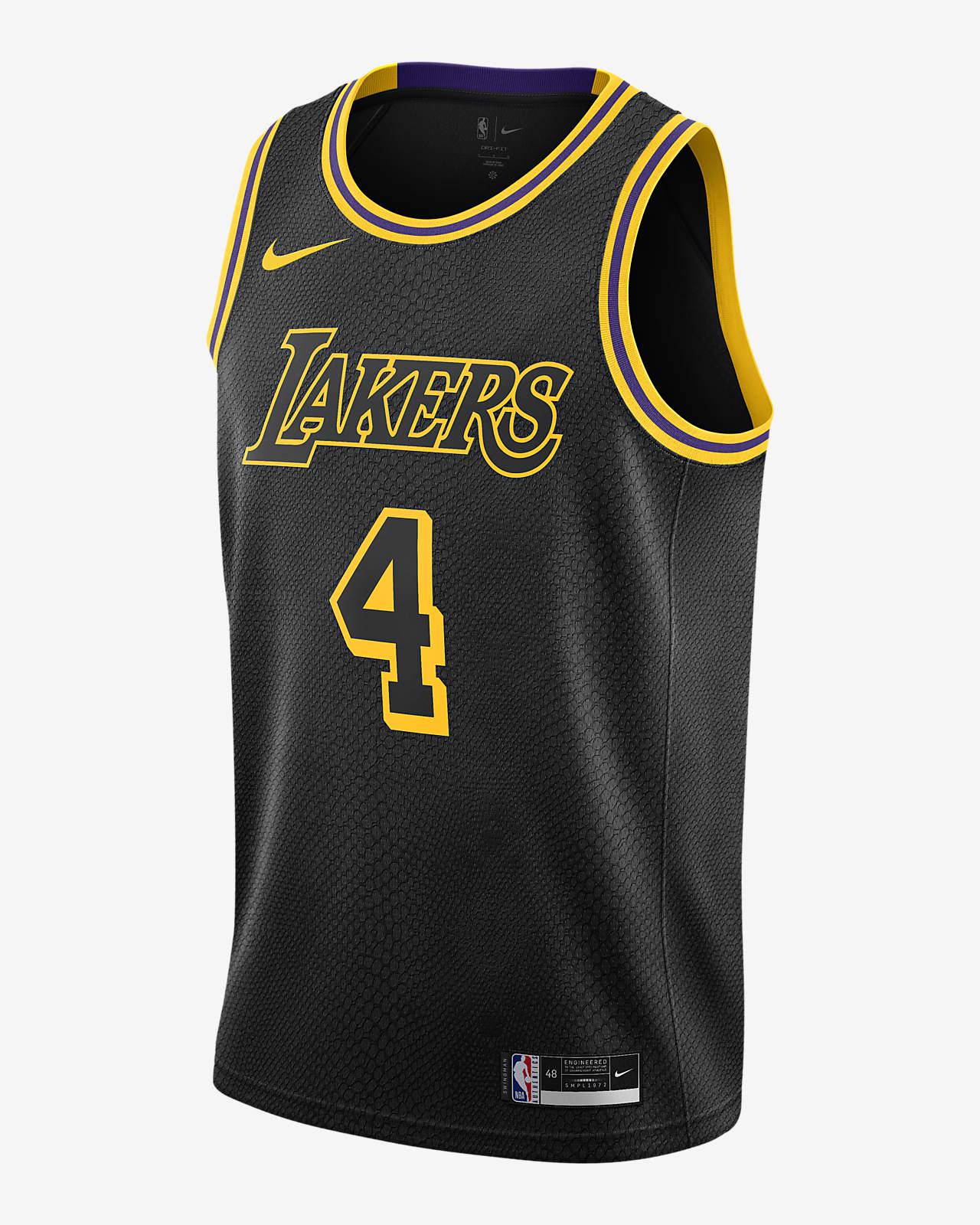 Alex Caruso Lakers Nike NBA Swingman Jersey