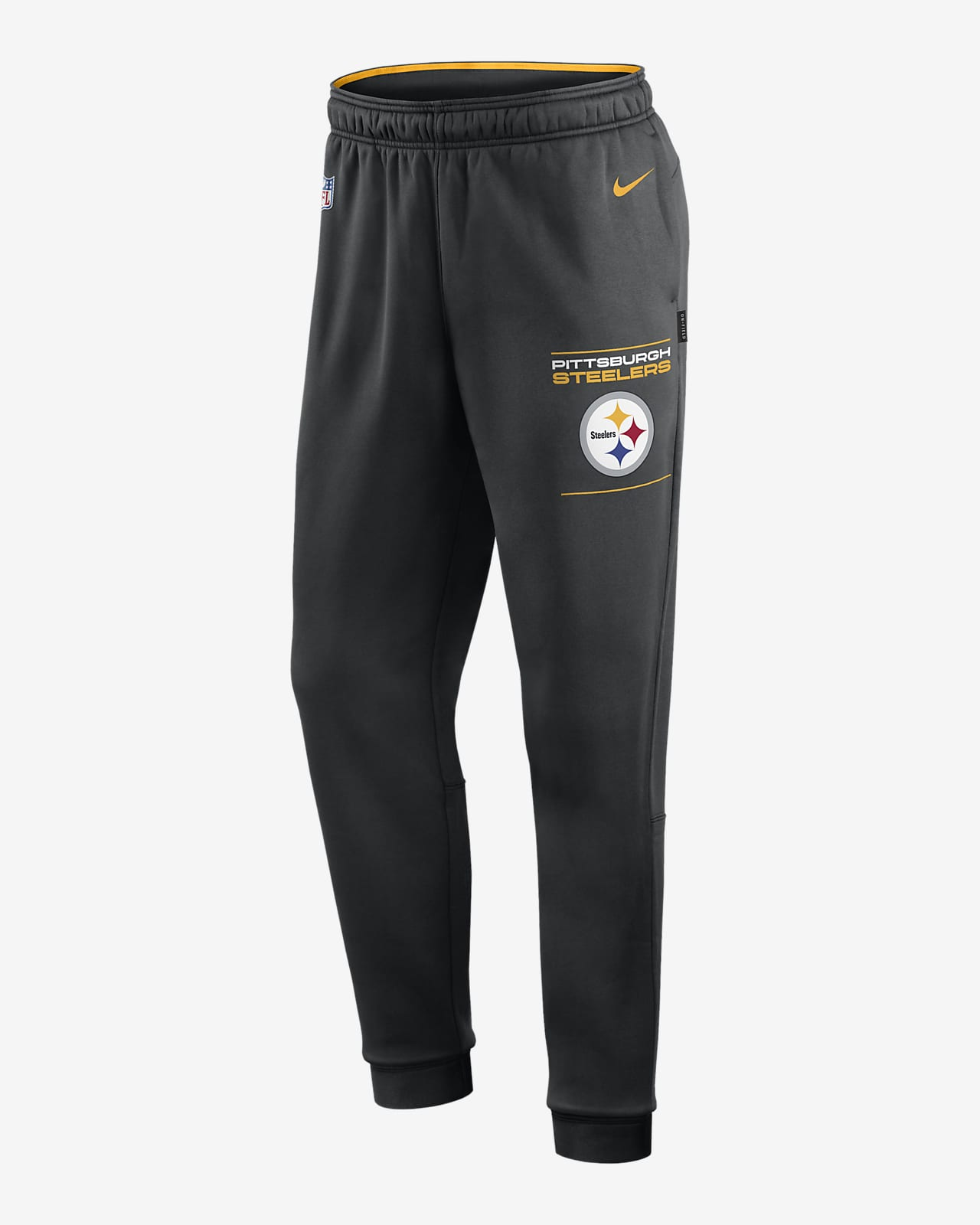 Pants para hombre Nike Therma Sideline (NFL Pittsburgh Steelers)