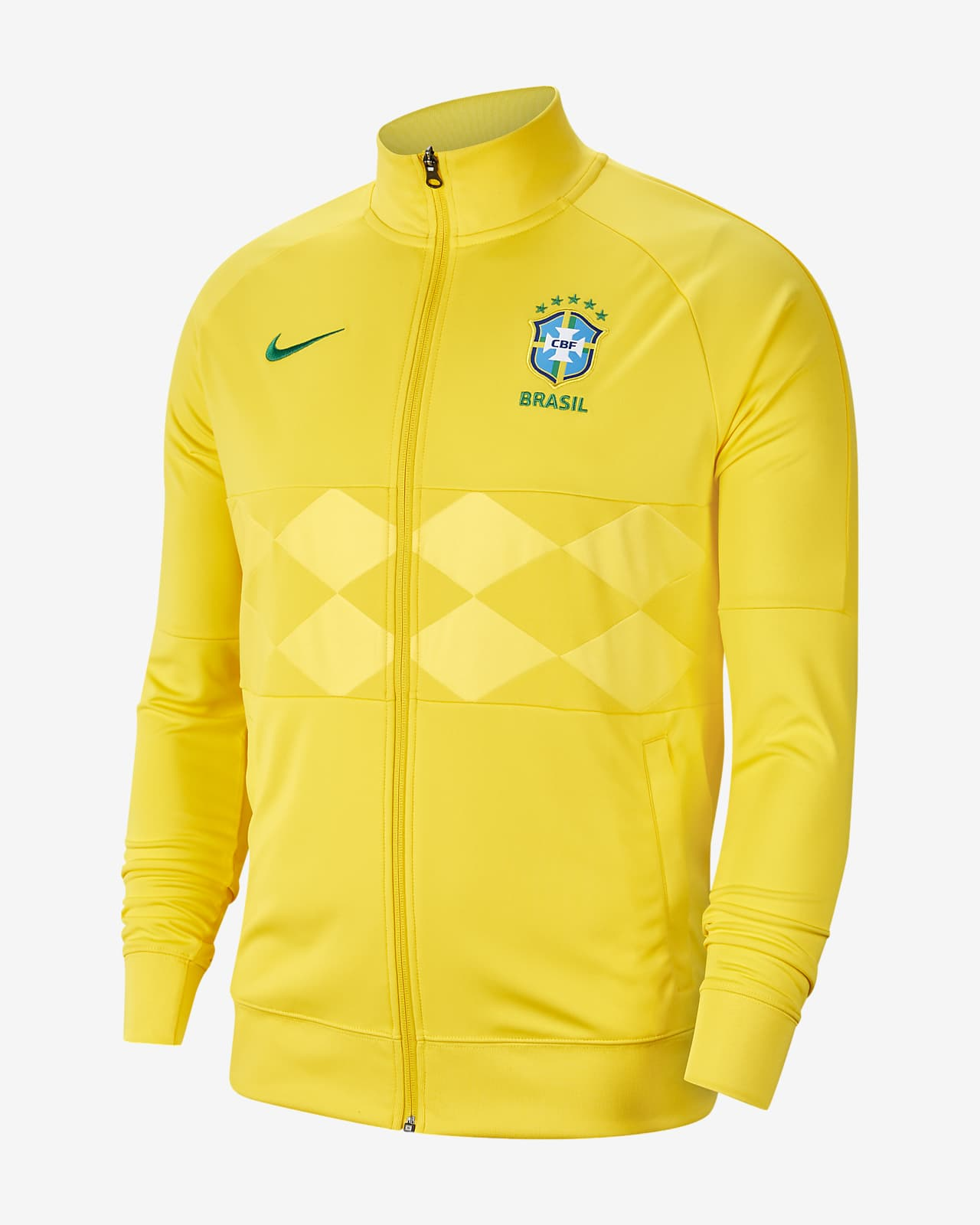 cache Estados Unidos águila  Brazil Men's Football Jacket. Nike GB