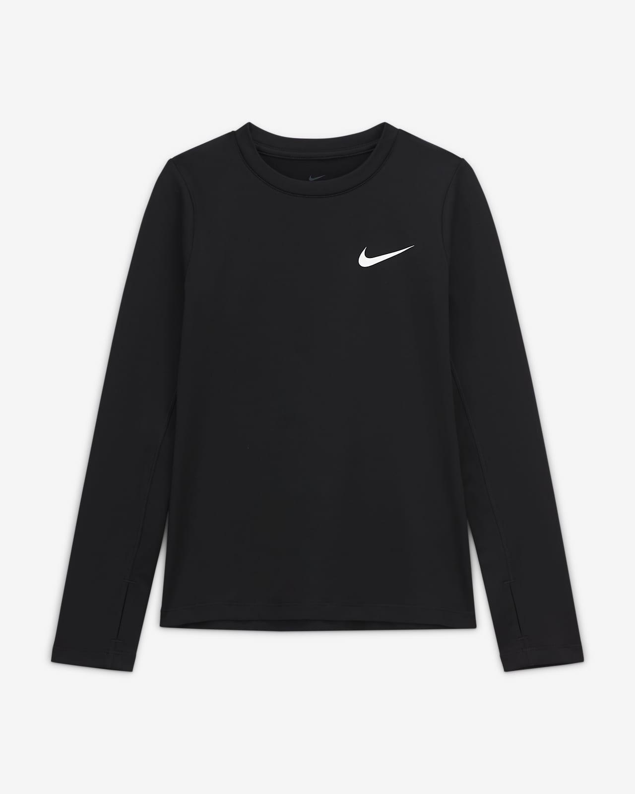 Haut à manches longues Nike Pro Warm pour Fille plus âgée