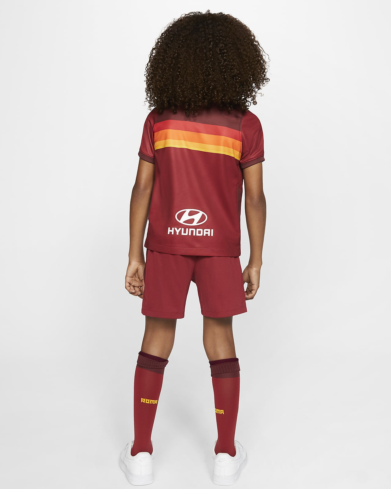 Divisa da calcio A.S. Roma 2020/21 per bambini - Home