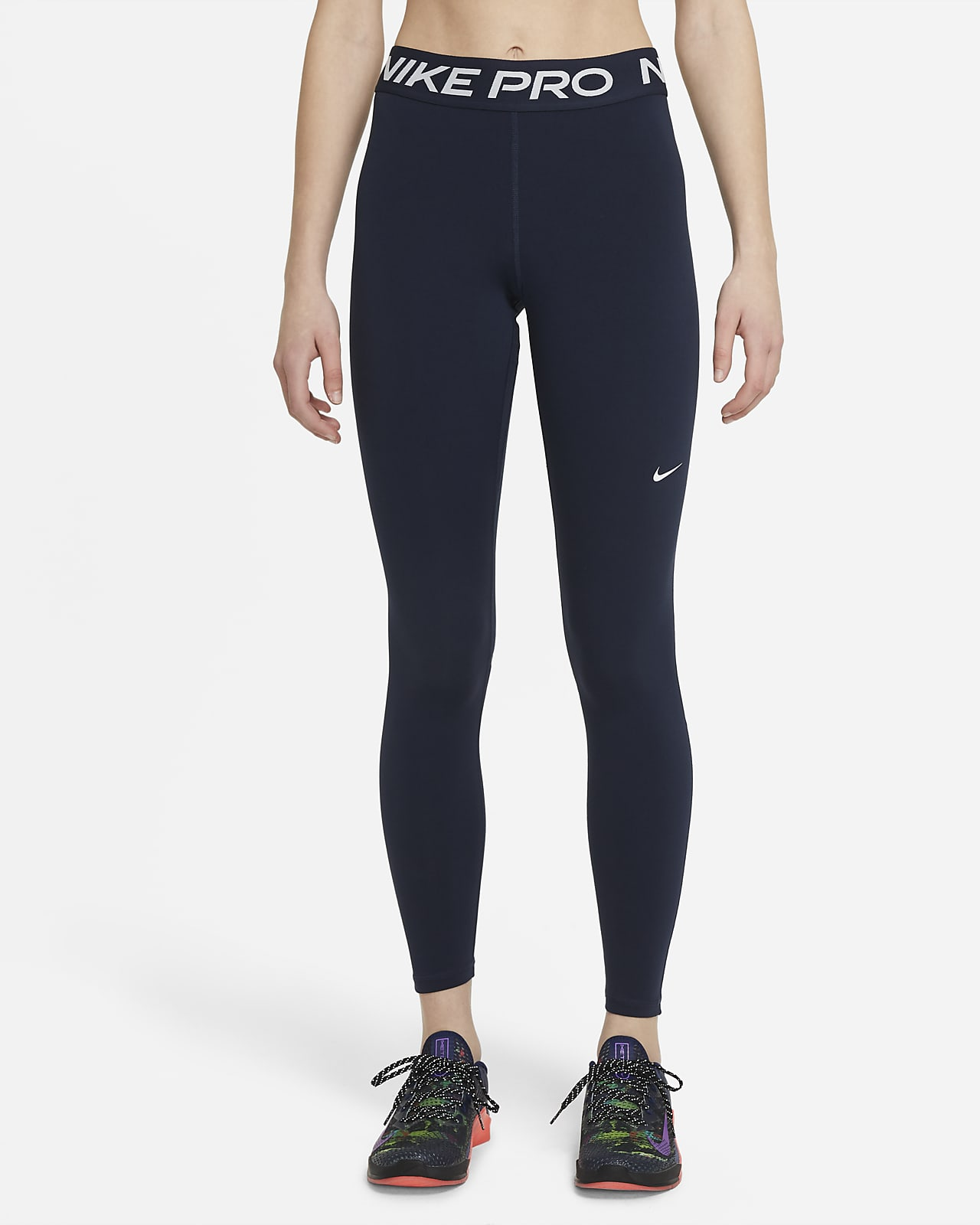 Leggings a vita media Nike Pro - Donna