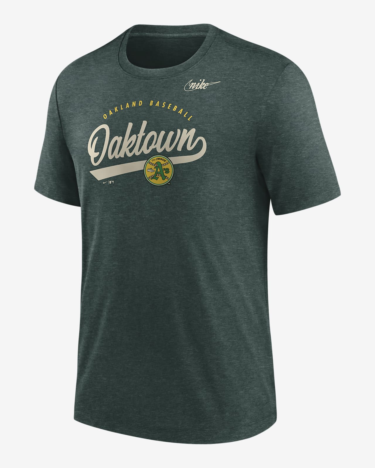 Nike Cooperstown Nickname (MLB Oakland Athletics) Men's T-Shirt