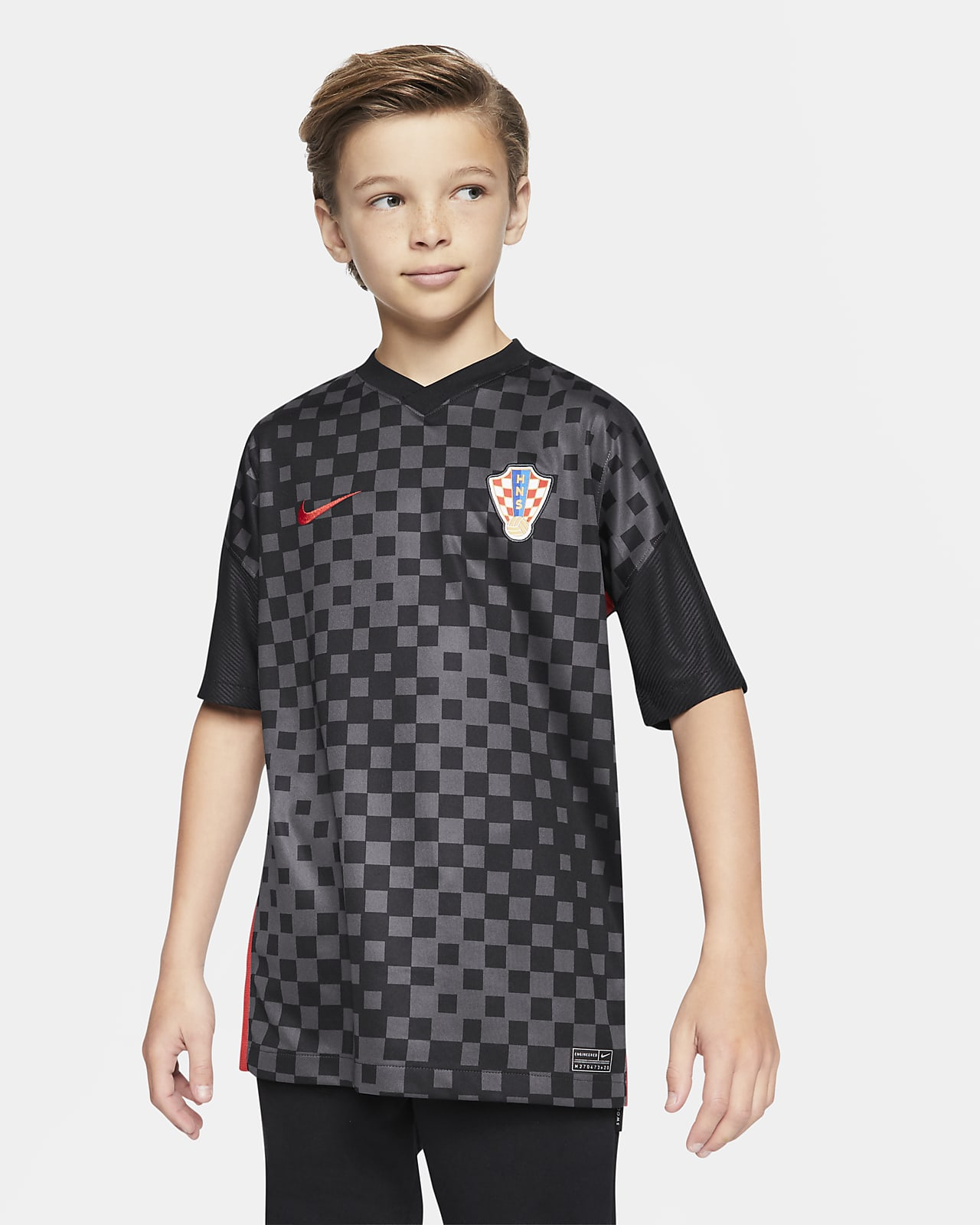 Croatia 2020 Stadium Away Older Kids' Football Shirt