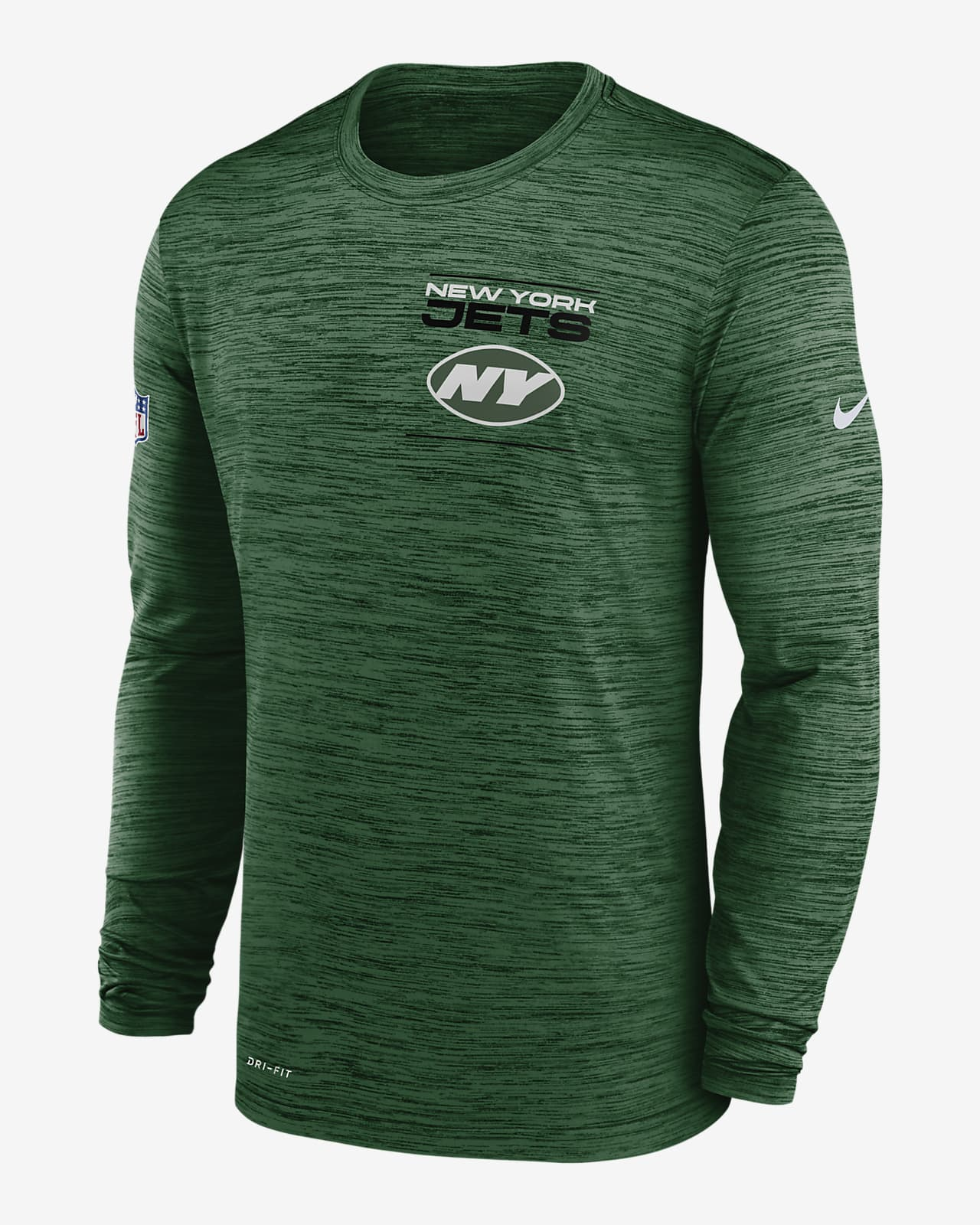 Nike Dri-FIT Sideline Velocity Legend (NFL New York Jets) Men's Long-Sleeve T-Shirt