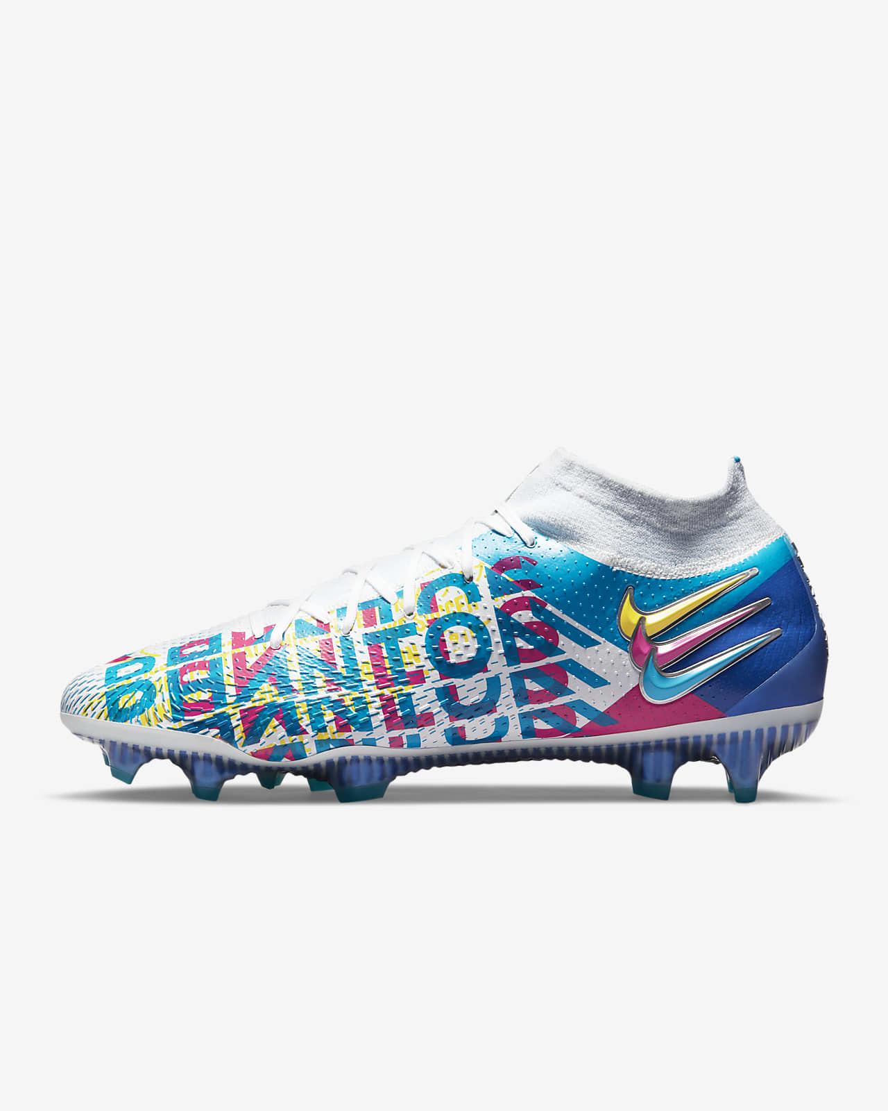 Korki piłkarskie na twardą murawę Nike Phantom GT Elite Dynamic Fit 3D FG