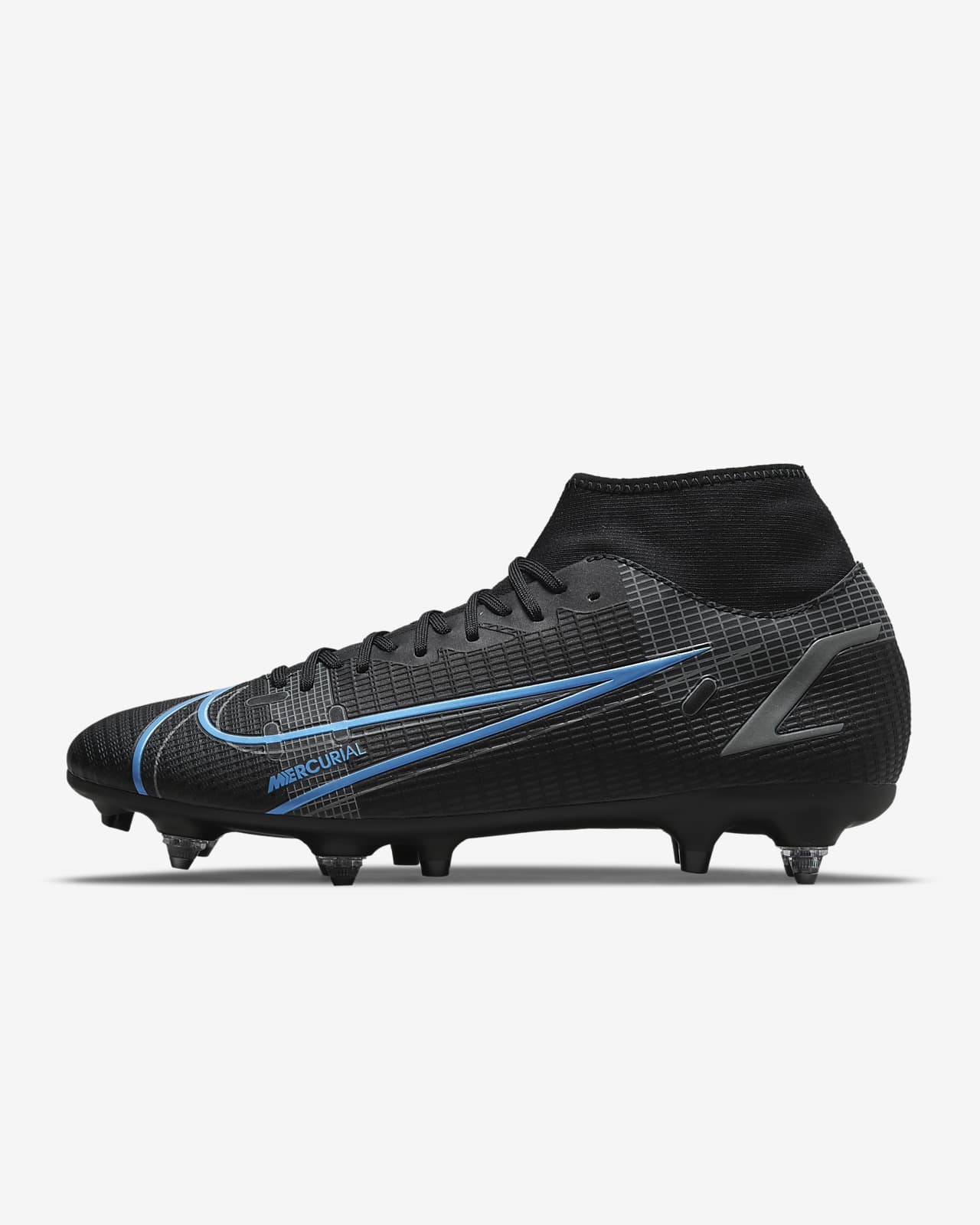 Chaussure de football à crampons pour terrain gras Nike Mercurial Superfly 8 Academy SG-Pro AC