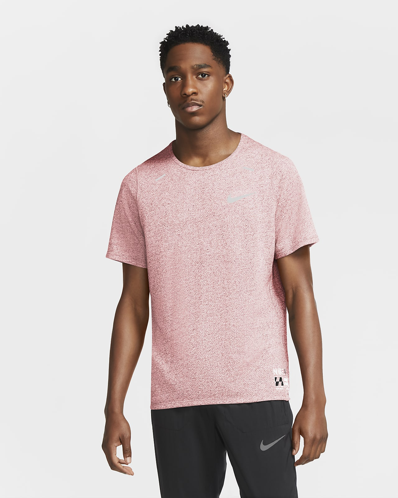 Ανδρική μπλούζα για τρέξιμο Nike Rise 365 Future Fast