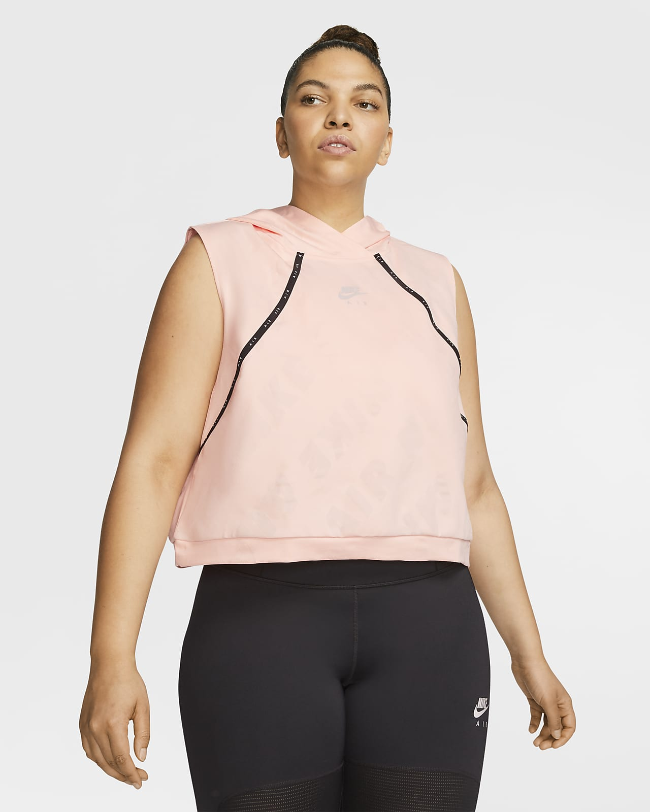 Nike Air Women's Hooded Running Vest (Plus Size)