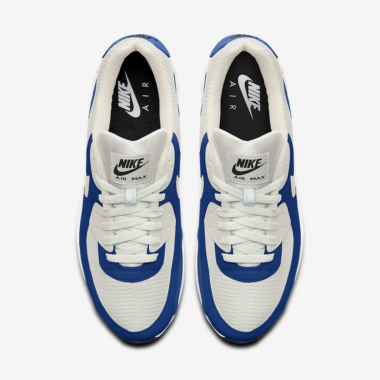 Chaussure personnalisable Nike Air Max 90 By You pour Homme. Nike LU