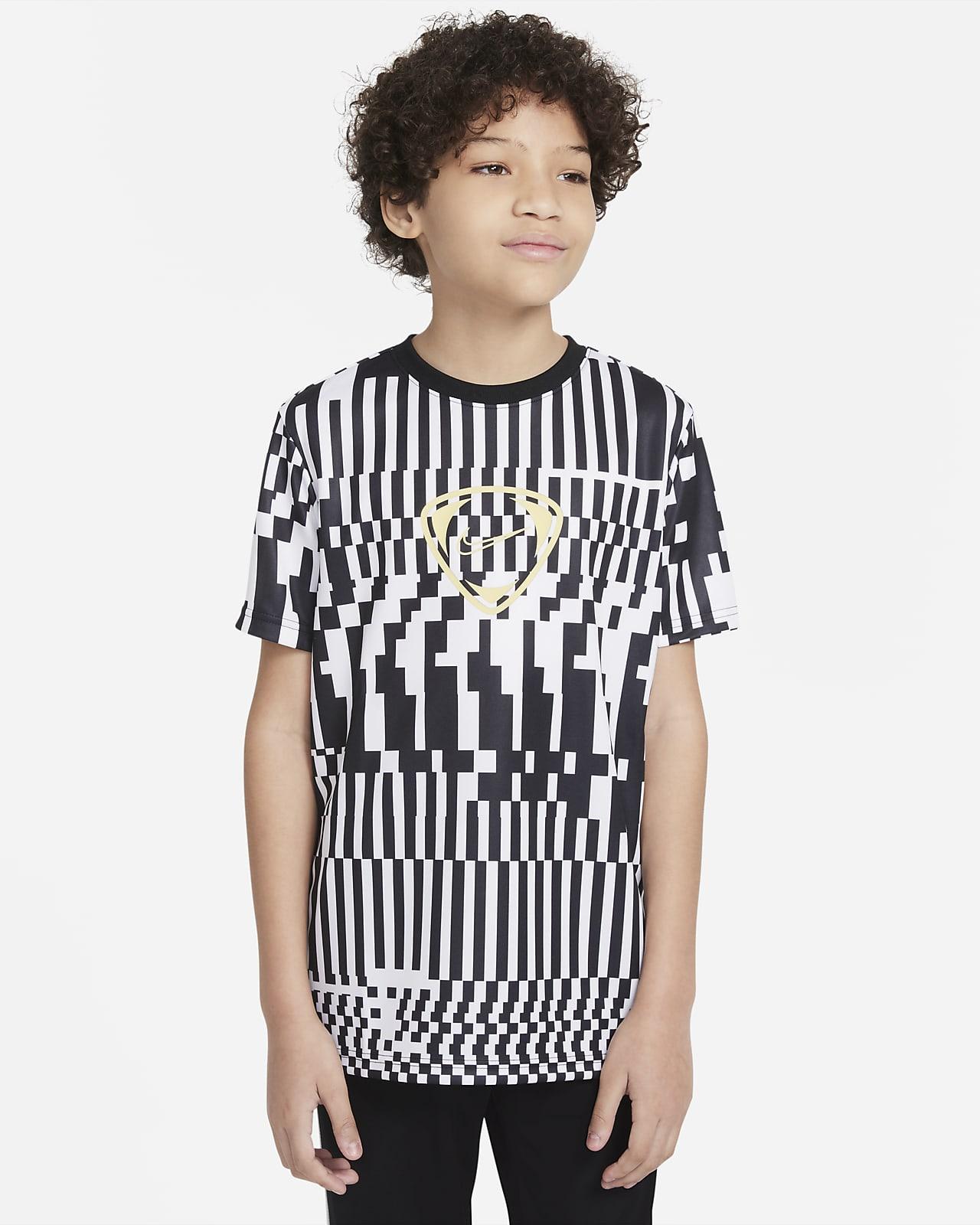 Playera de fútbol para niños talla grande Nike Dri-FIT Academy